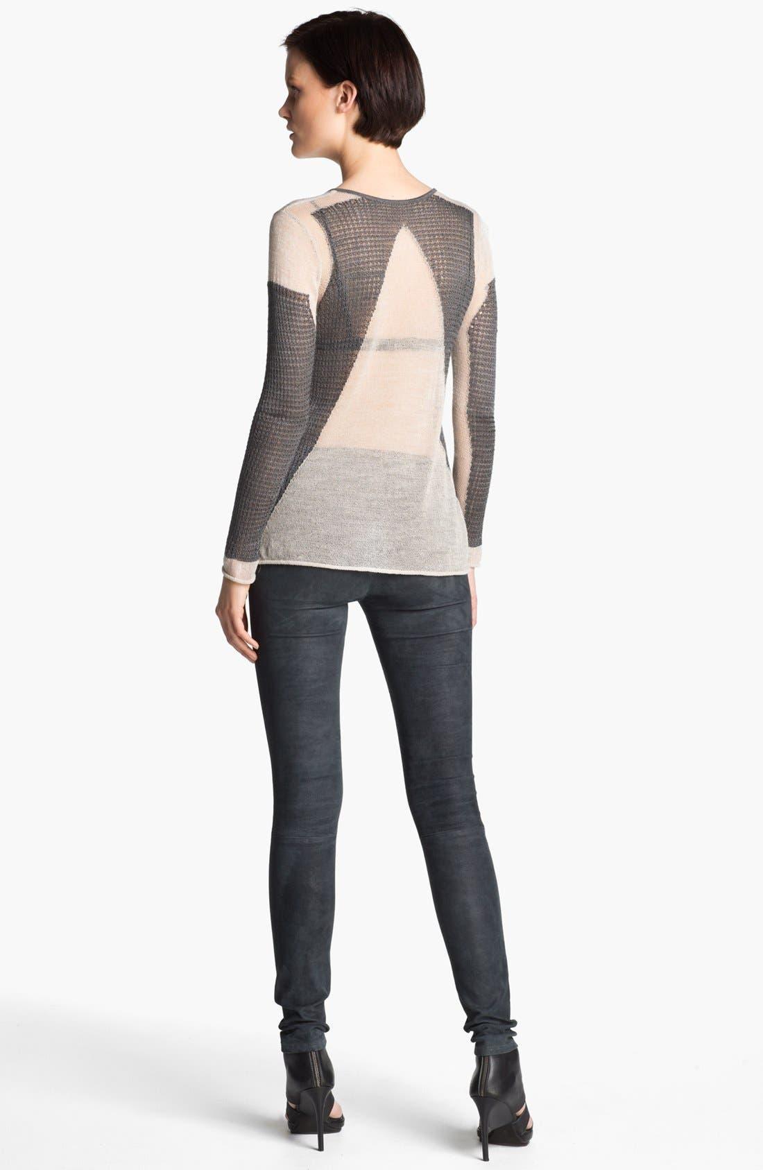 Alternate Image 2  - Helmut Lang 'Modern Lace' Pullover