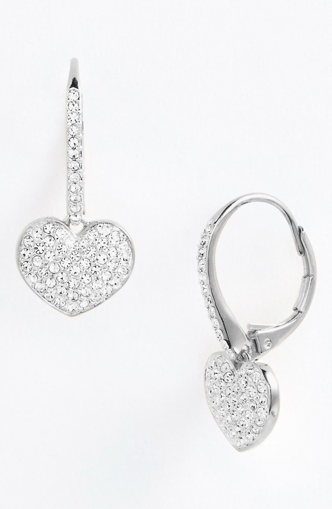 Alternate Image 1 Selected - Nadri 'Charmers' Pavé Symbol Drop Earrings (Nordstrom Exclusive)