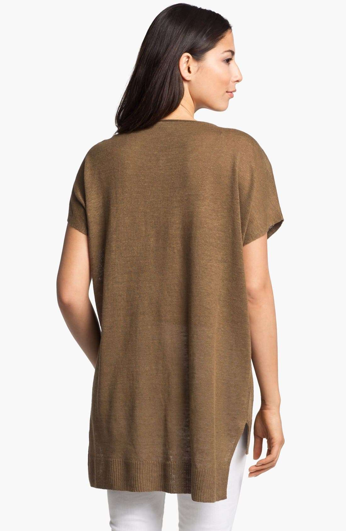 Alternate Image 2  - Eileen Fisher Scoop Neck Dolman Sleeve Tunic