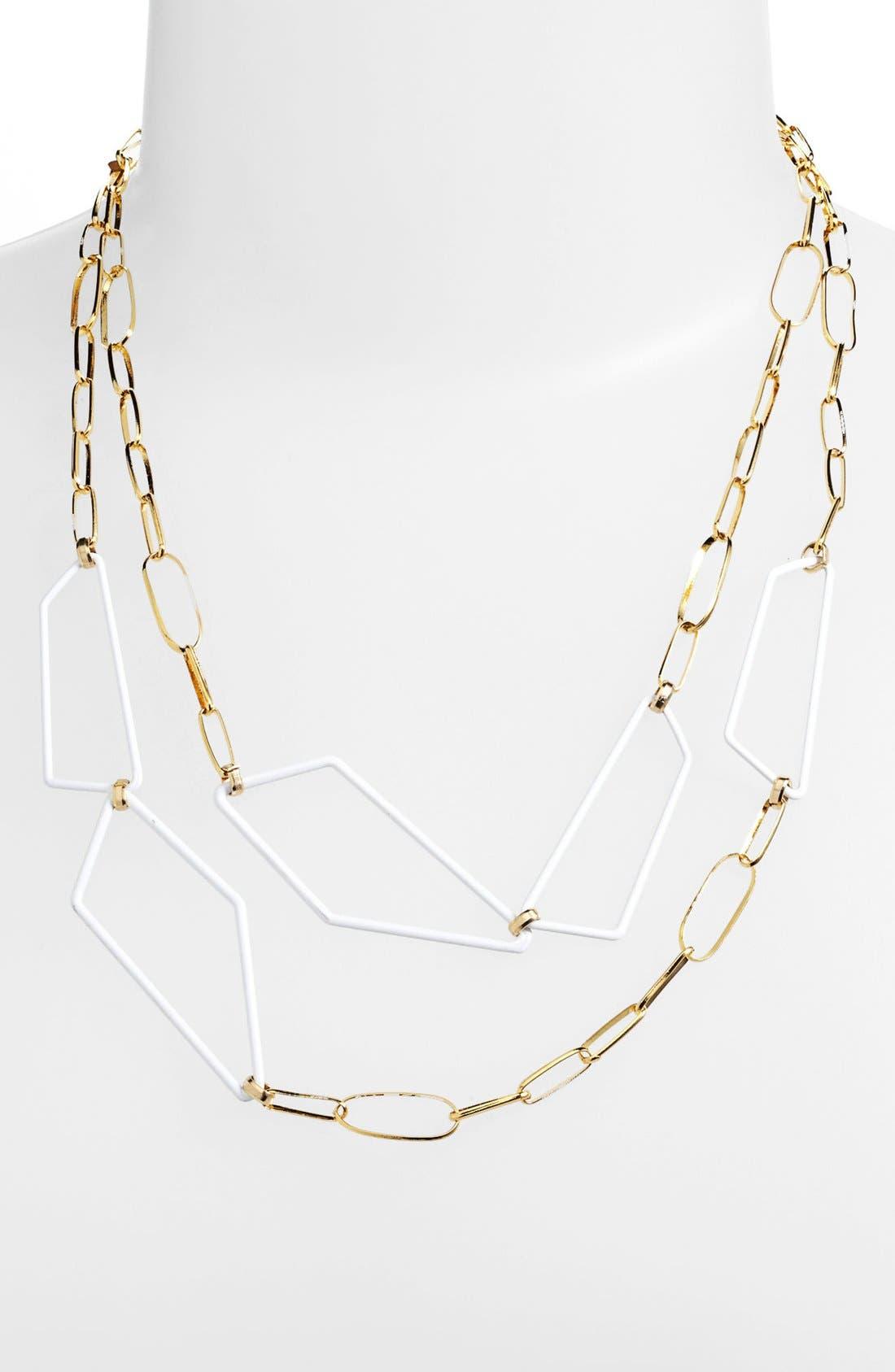 Main Image - Alexis Bittar 'Miss Havisham - Liquid Gold' Multistrand Link Necklace