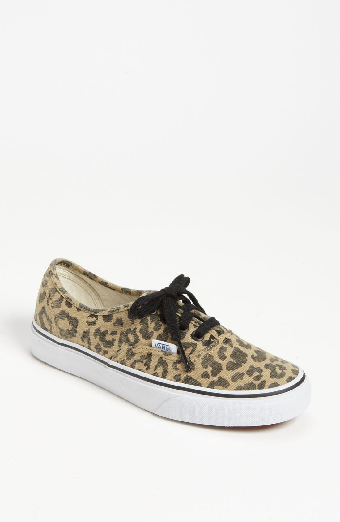 Alternate Image 1 Selected - Vans 'Authentic - Van Doren' Sneaker (Women)