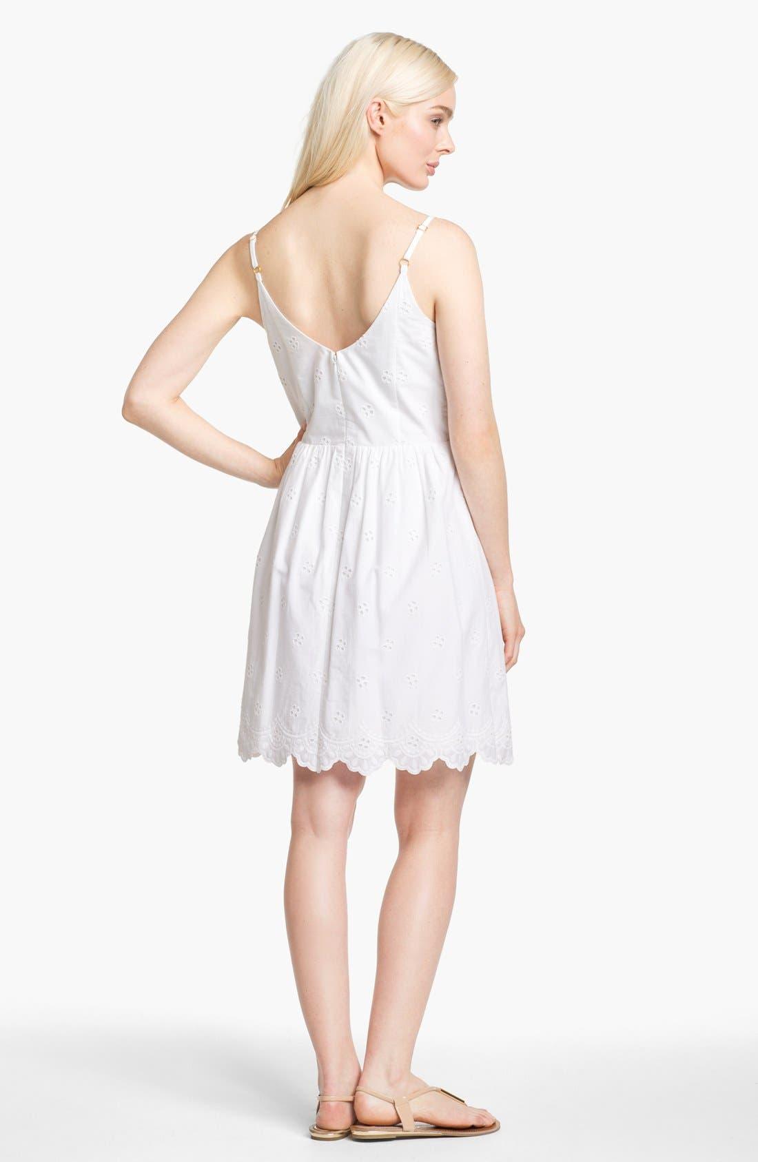 Alternate Image 2  - Lilly Pulitzer® 'Antonia' Cotton Eyelet Dress