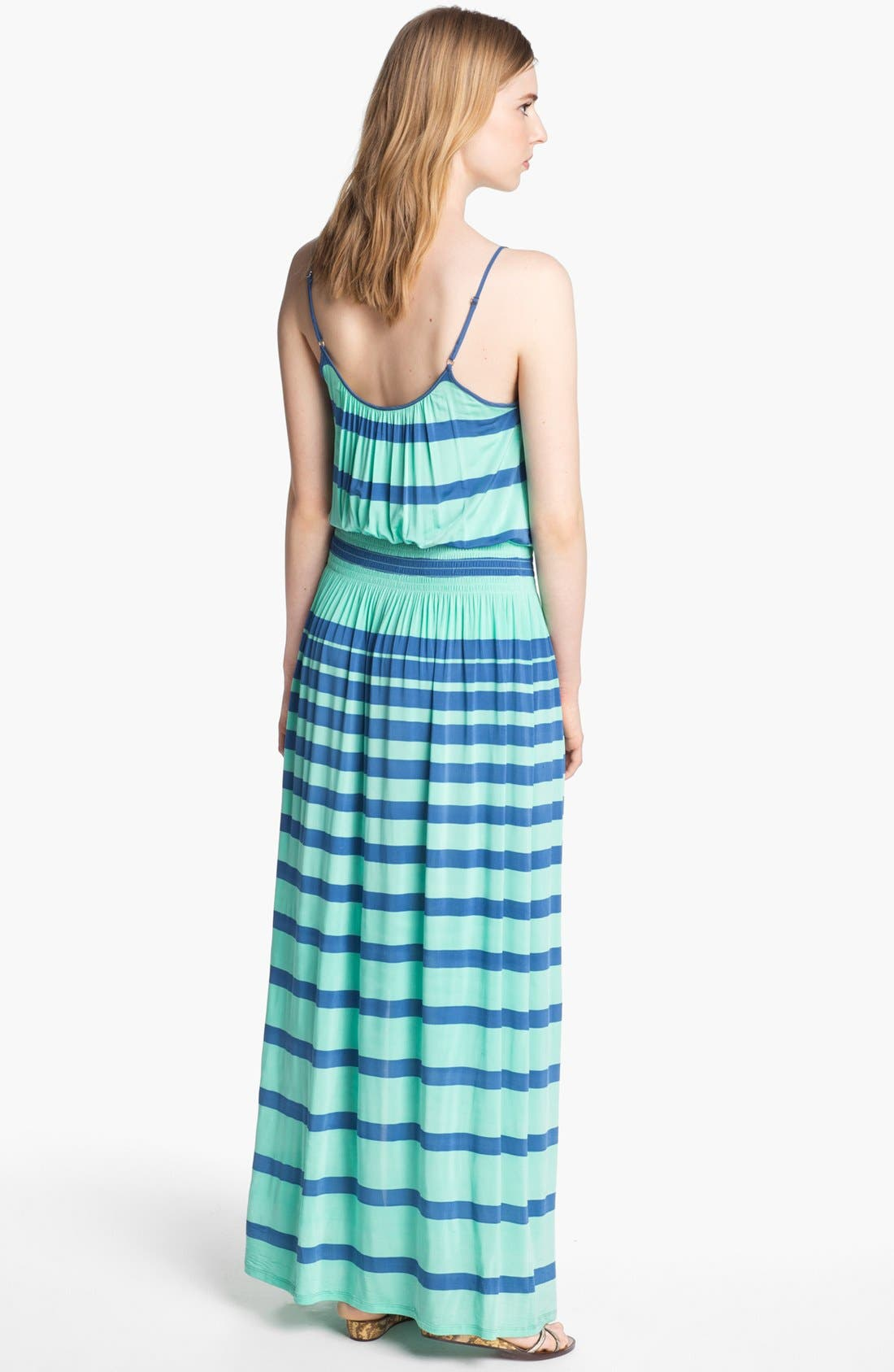 Alternate Image 2  - Tracy Reese High Slit Jersey Maxi Dress