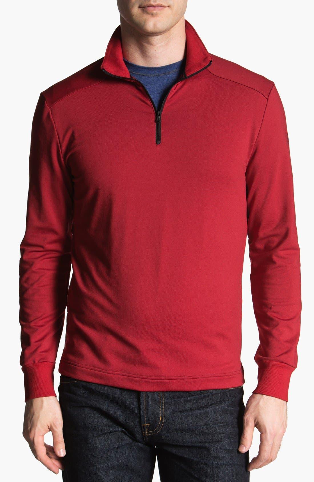 Alternate Image 1 Selected - Victorinox Swiss Army® 'Langden' Quarter Zip Fleece Pullover