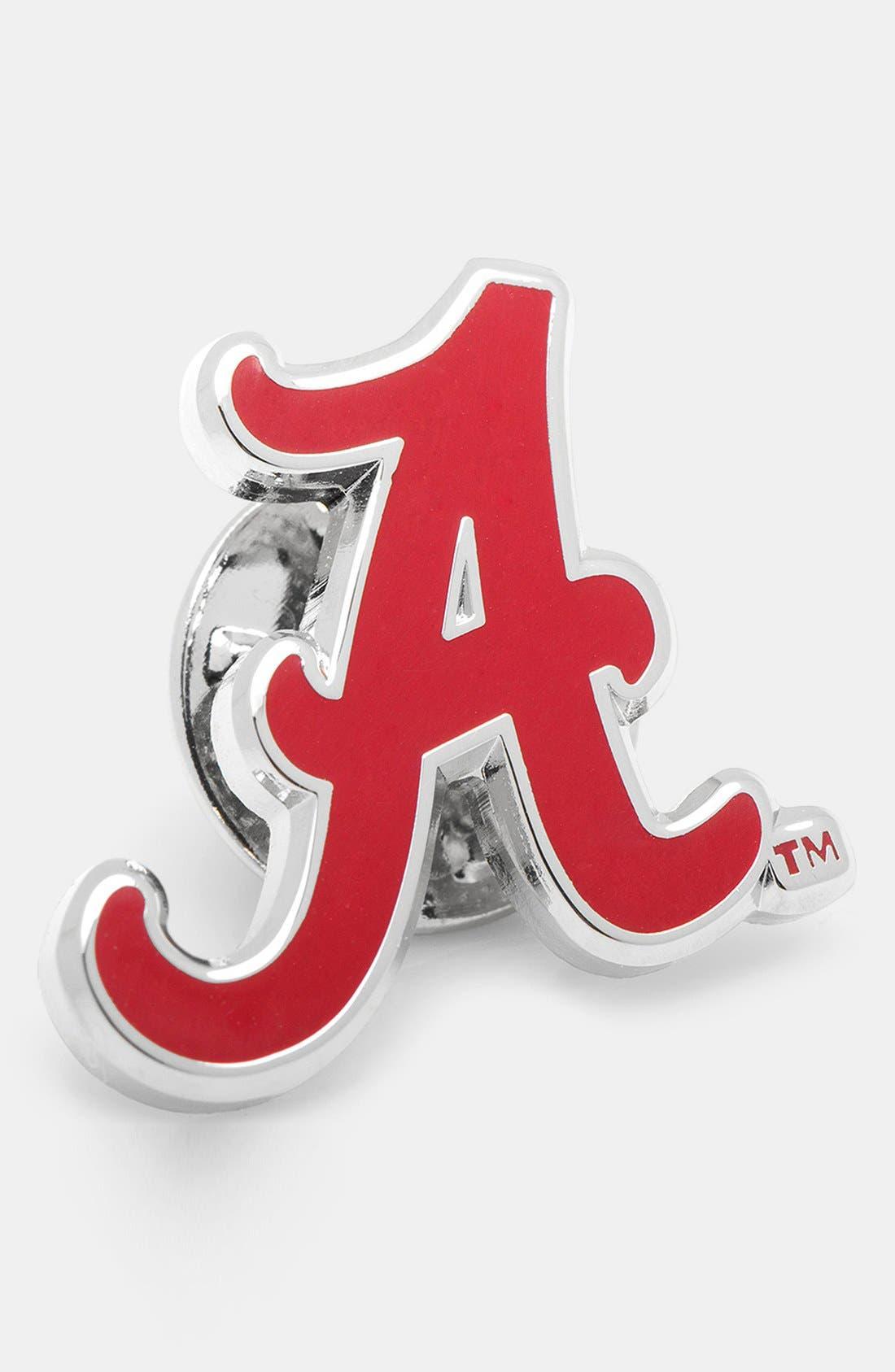 Main Image - Cufflinks, Inc. 'Alabama Crimson Tide' Lapel Pin