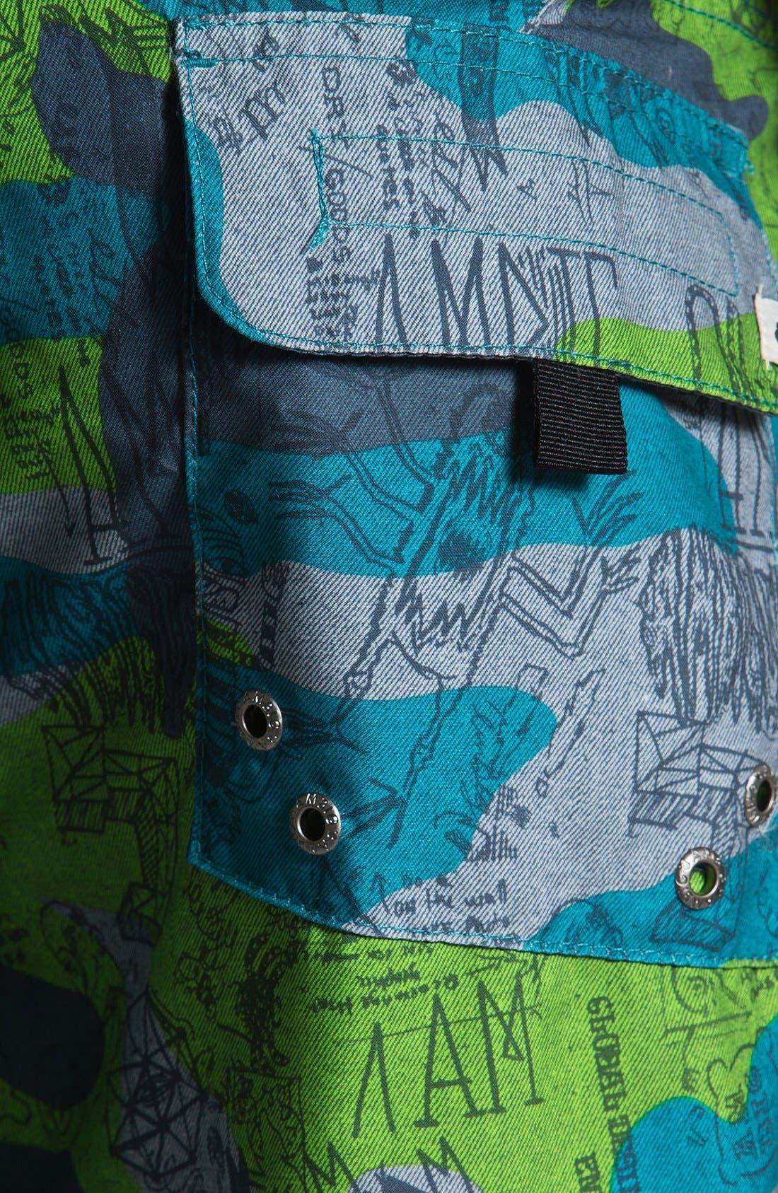 Alternate Image 3  - Ambiguous 'Lemmy' Board Shorts
