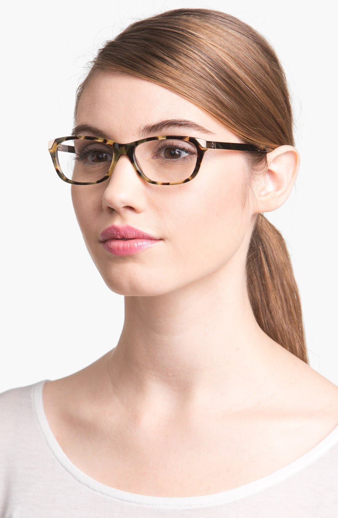 Alternate Image 1 Selected - Tory Burch 51mm Optical Glasses (Online Exclusive)