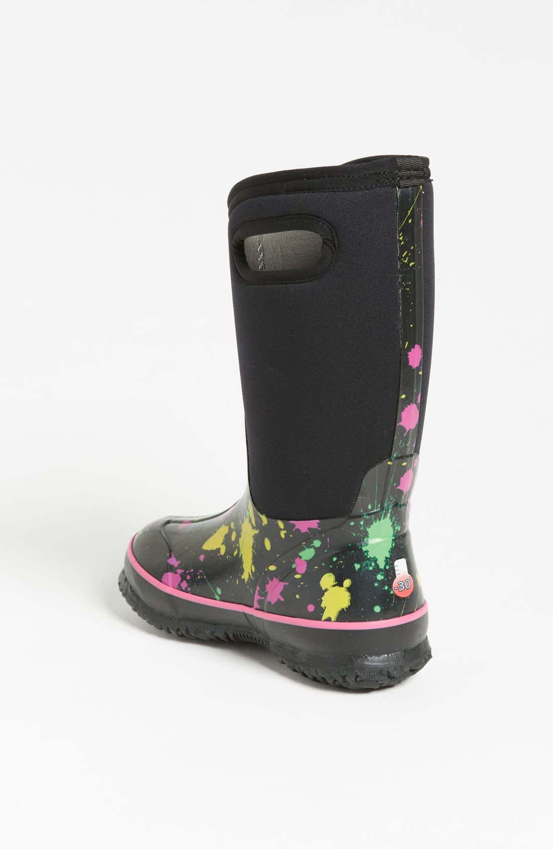 Alternate Image 2  - Bogs 'Classic High - Paint Splat' Waterproof Boot (Toddler, Little Kid & Big Kid)
