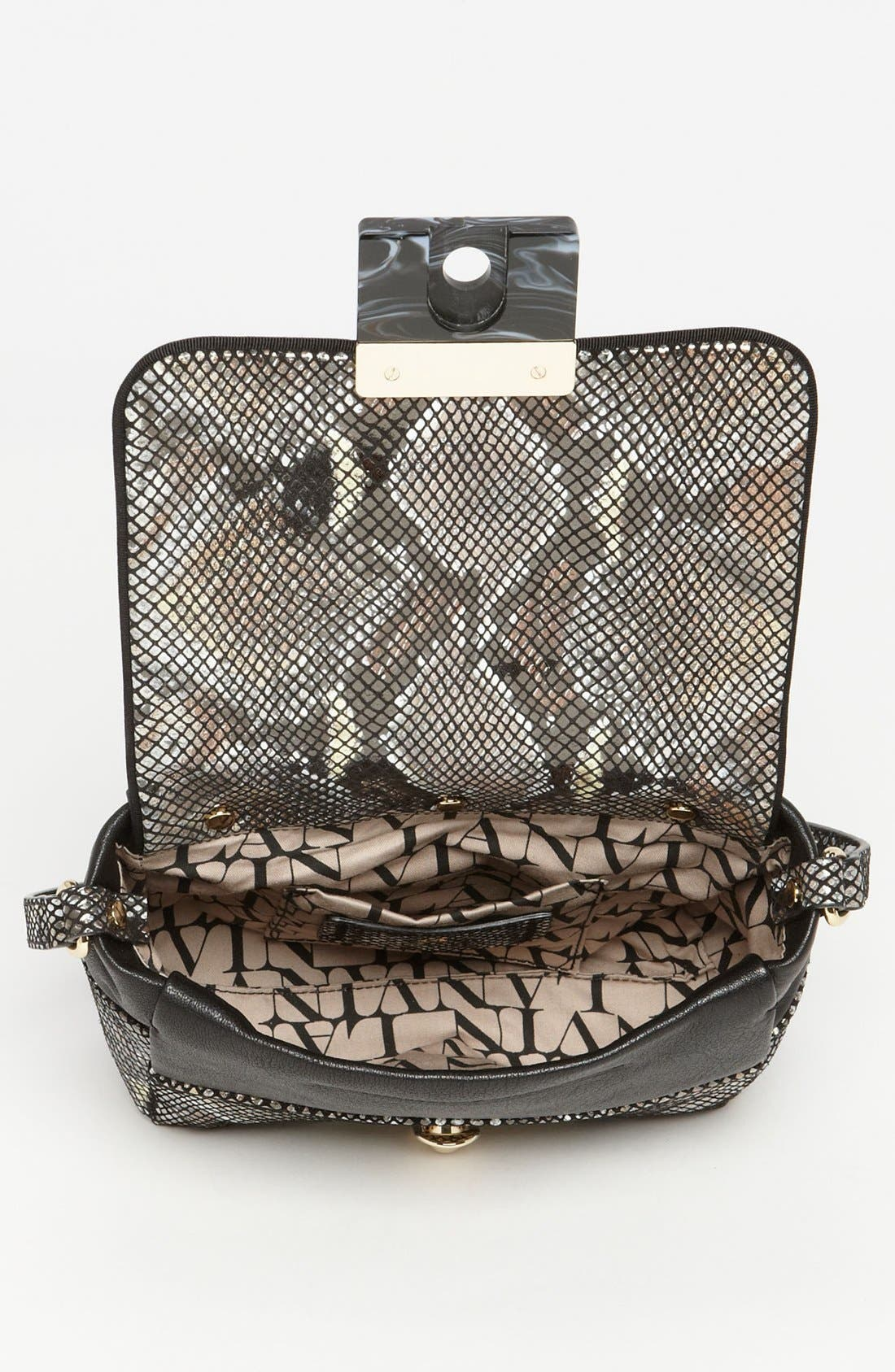 Alternate Image 3  - Lanvin 'For Me - Small' Faux Snakeskin Crossbody Bag