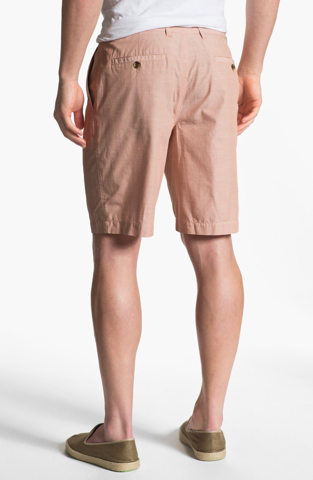 Alternate Image 2  - Wallin & Bros. 'Lanspur' Flat Front Shorts