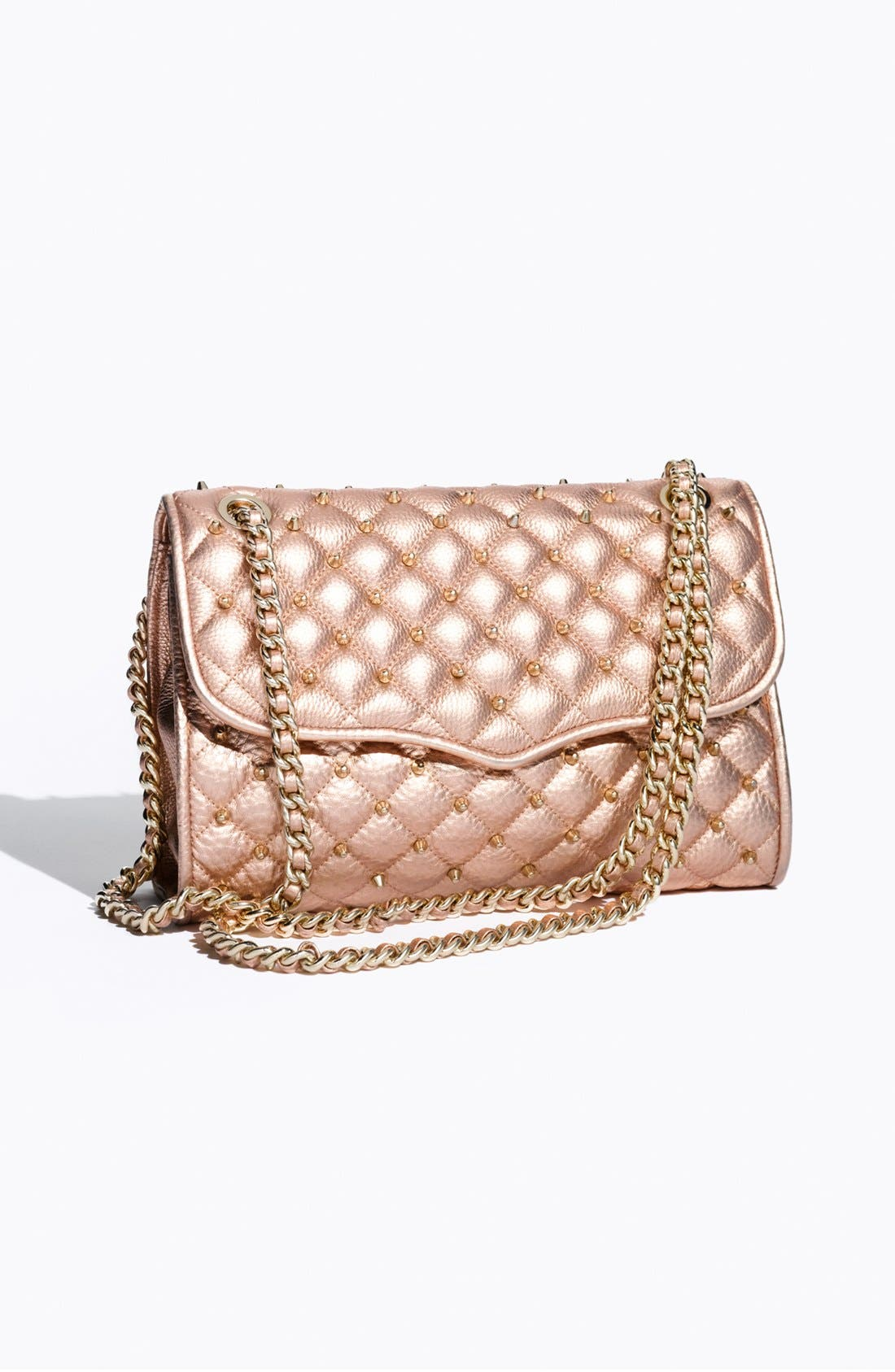 Alternate Image 5  - Rebecca Minkoff 'Quilted Affair with Studs' Shoulder Bag