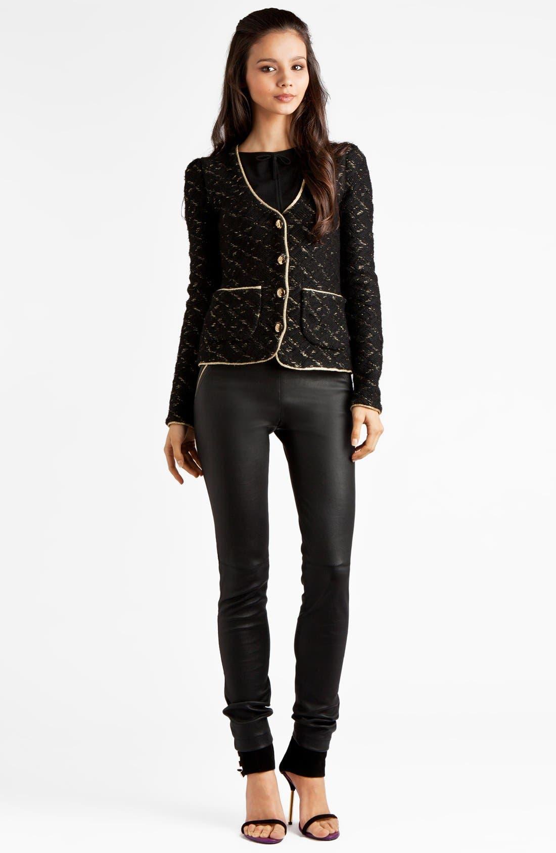 Main Image - Emilio Pucci Metallic Jacket