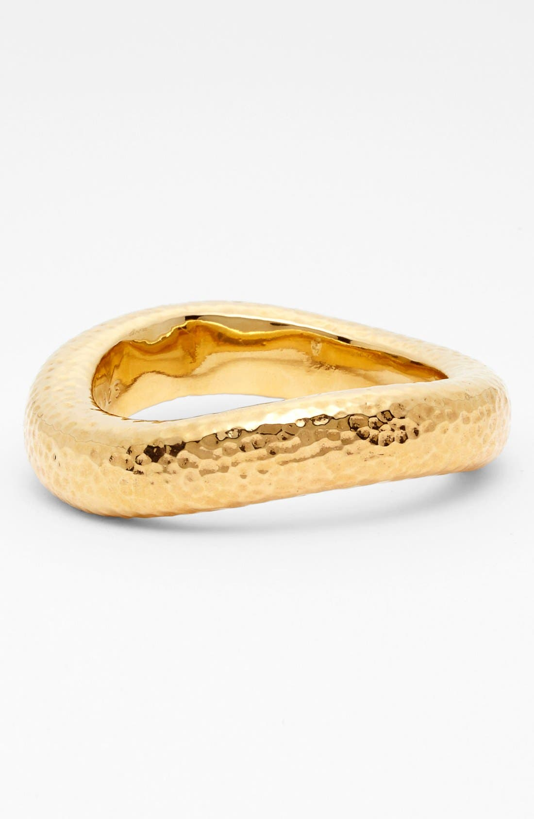 Alternate Image 1 Selected - Simon Sebbag Hammered Wide Wavy Bangle