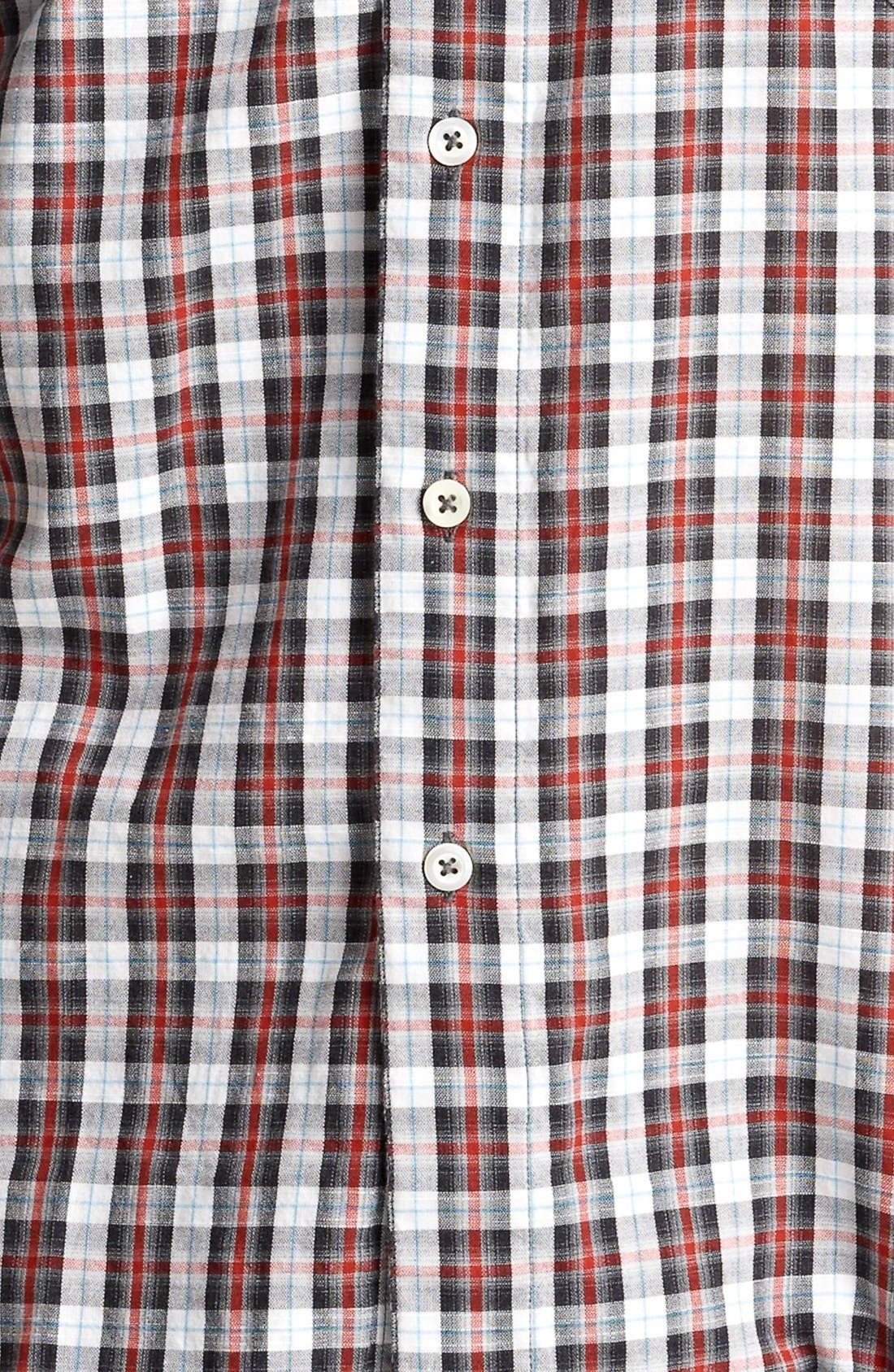 Alternate Image 3  - Billy Reid 'Walland' Plaid Woven Shirt