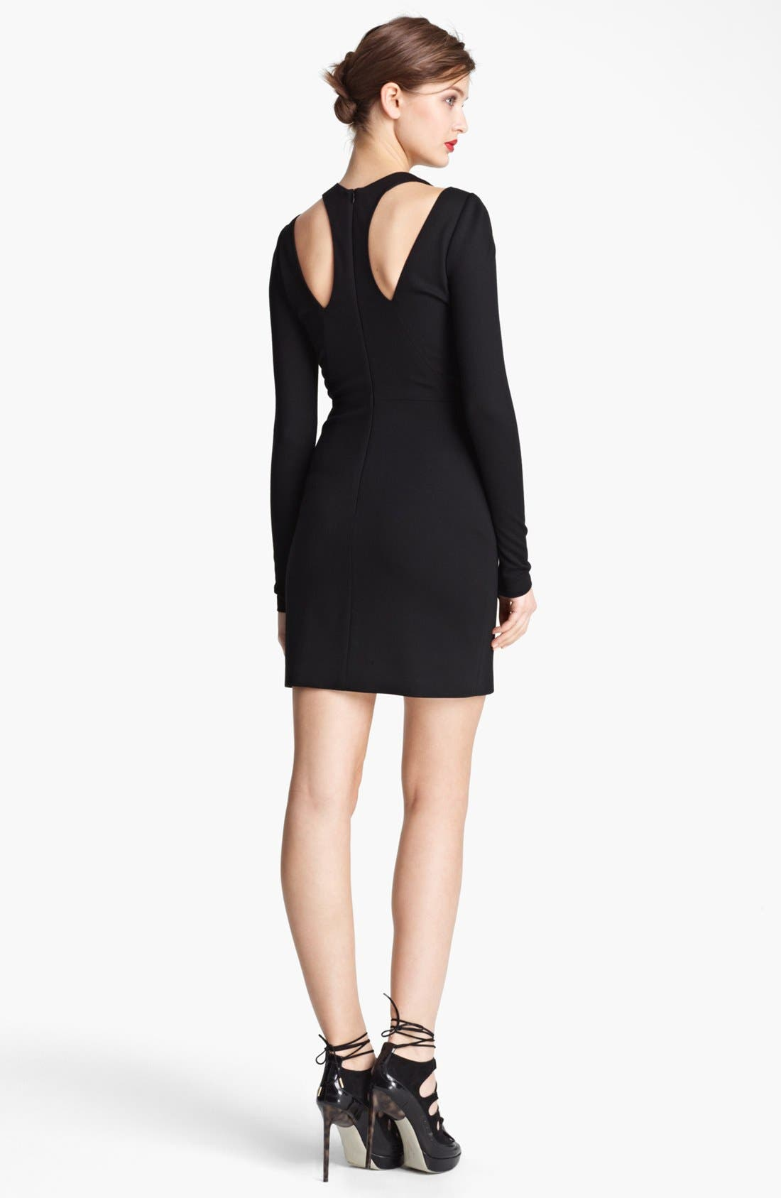 Alternate Image 2  - Jason Wu Ponte Jersey Racerback Dress