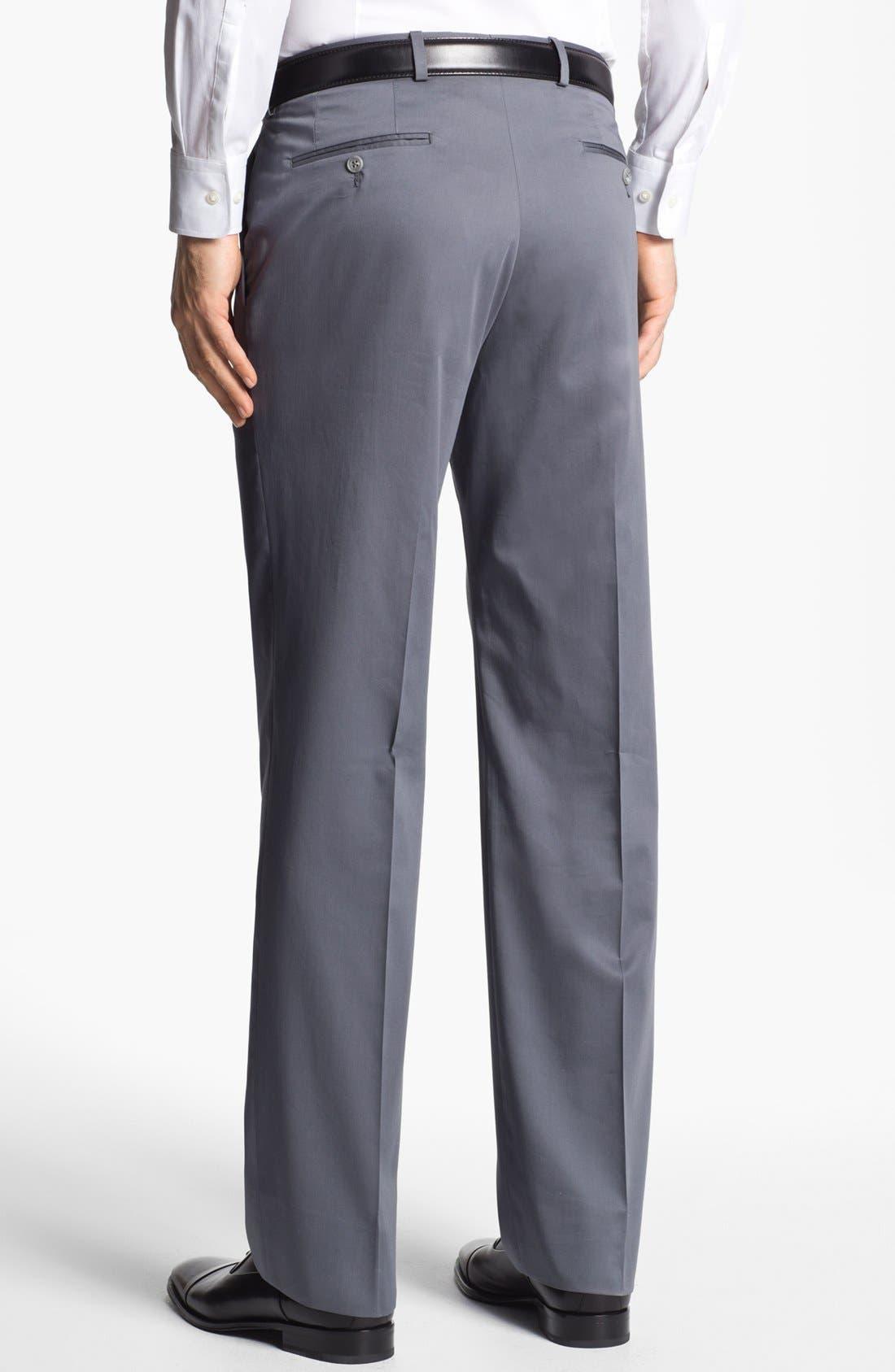 Alternate Image 2  - John Varvatos Star USA 'Thompson' Cotton Blend Trousers