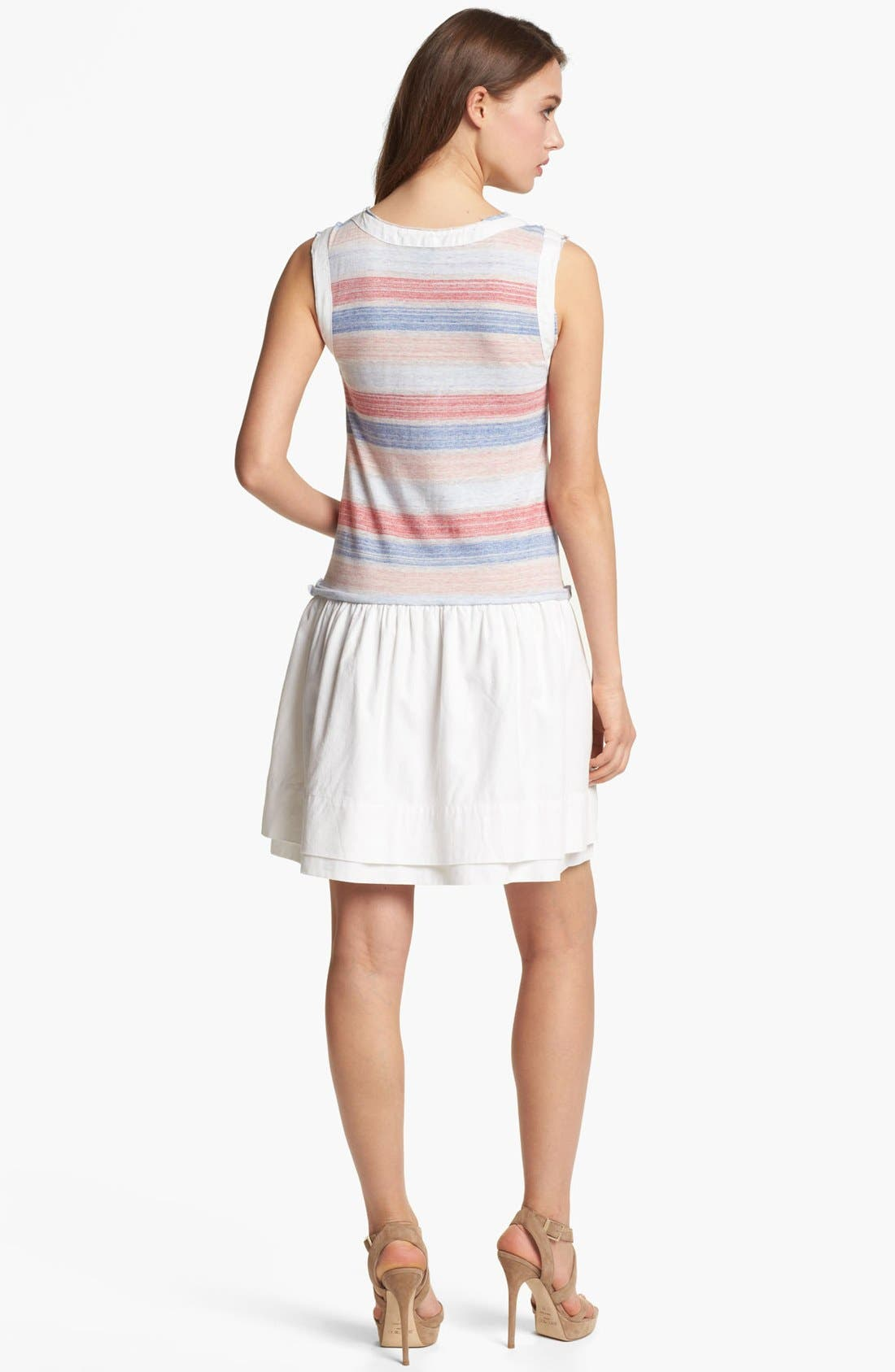 Alternate Image 2  - MARC BY MARC JACOBS 'Sketch' Stripe Cotton Blend Tank Dress