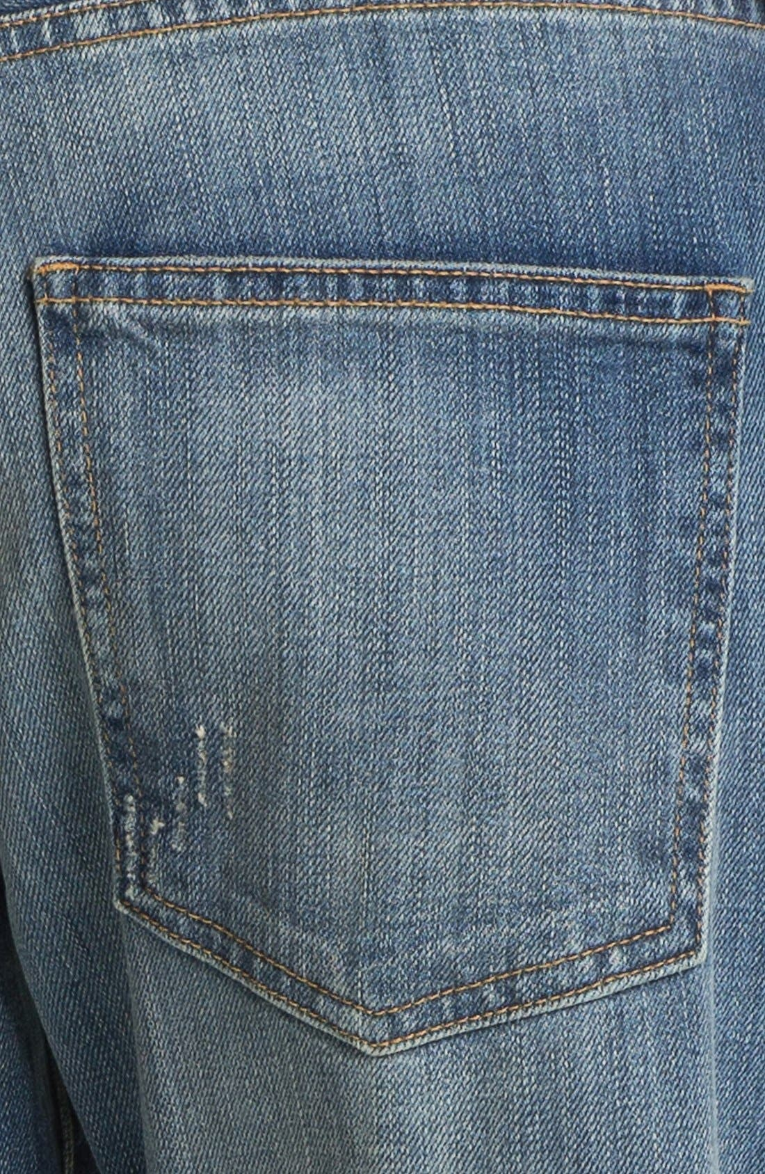 Alternate Image 3  - Current/Elliott 'The Boyfriend Jean' Jeans (Super Loved)