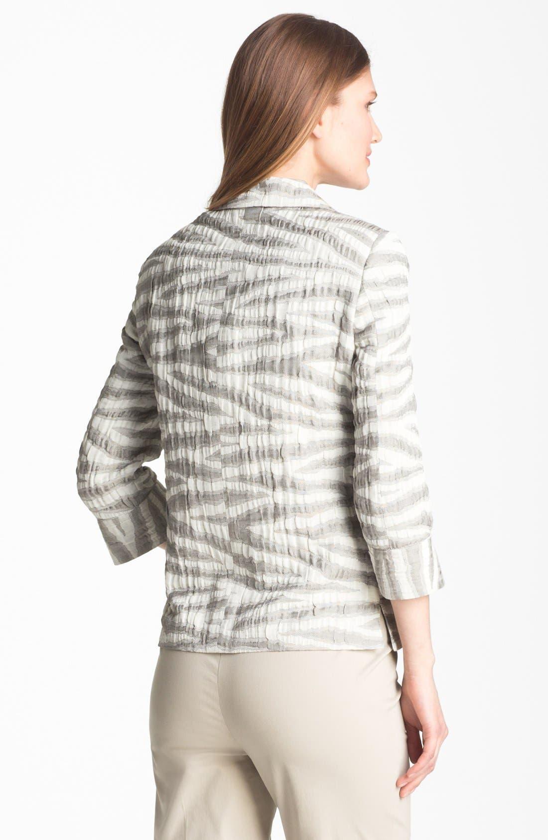 Alternate Image 2  - Zanella 'Dusty Zebra' Jacket