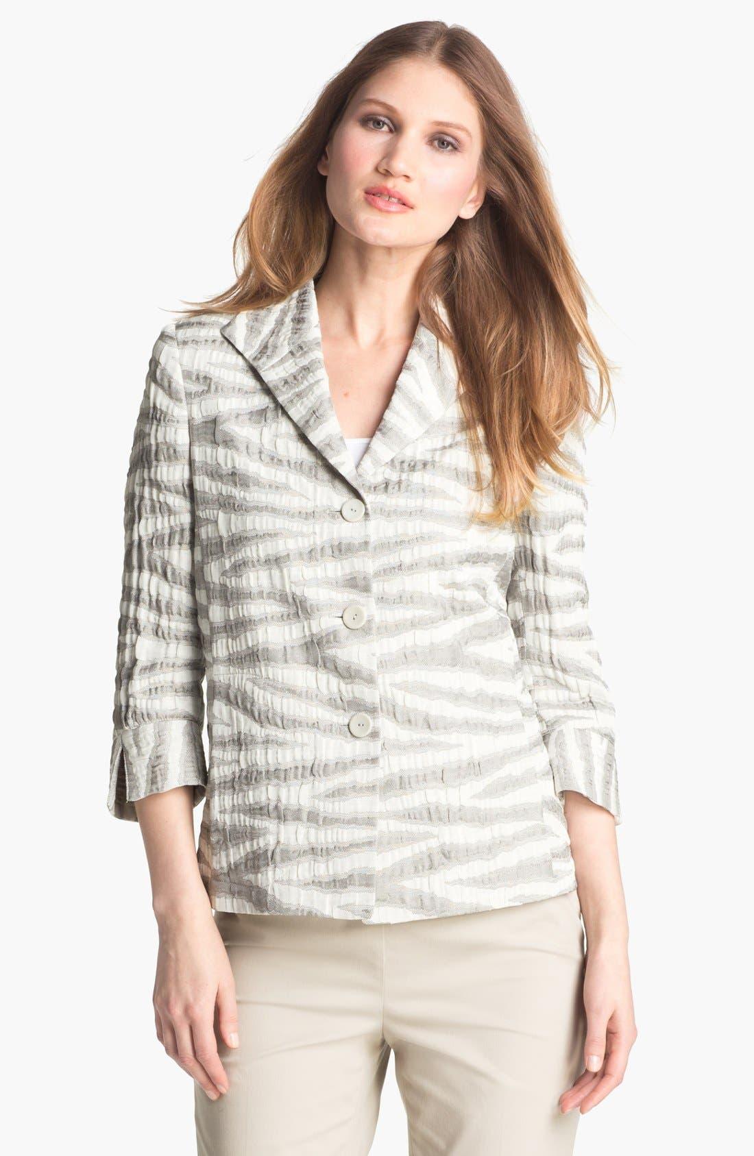Alternate Image 1 Selected - Zanella 'Dusty Zebra' Jacket