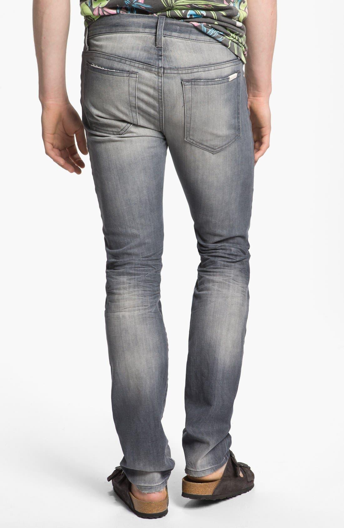 Alternate Image 1 Selected - Joe's 'Slim' Skinny Fit Selvedge Jeans (Briggs)