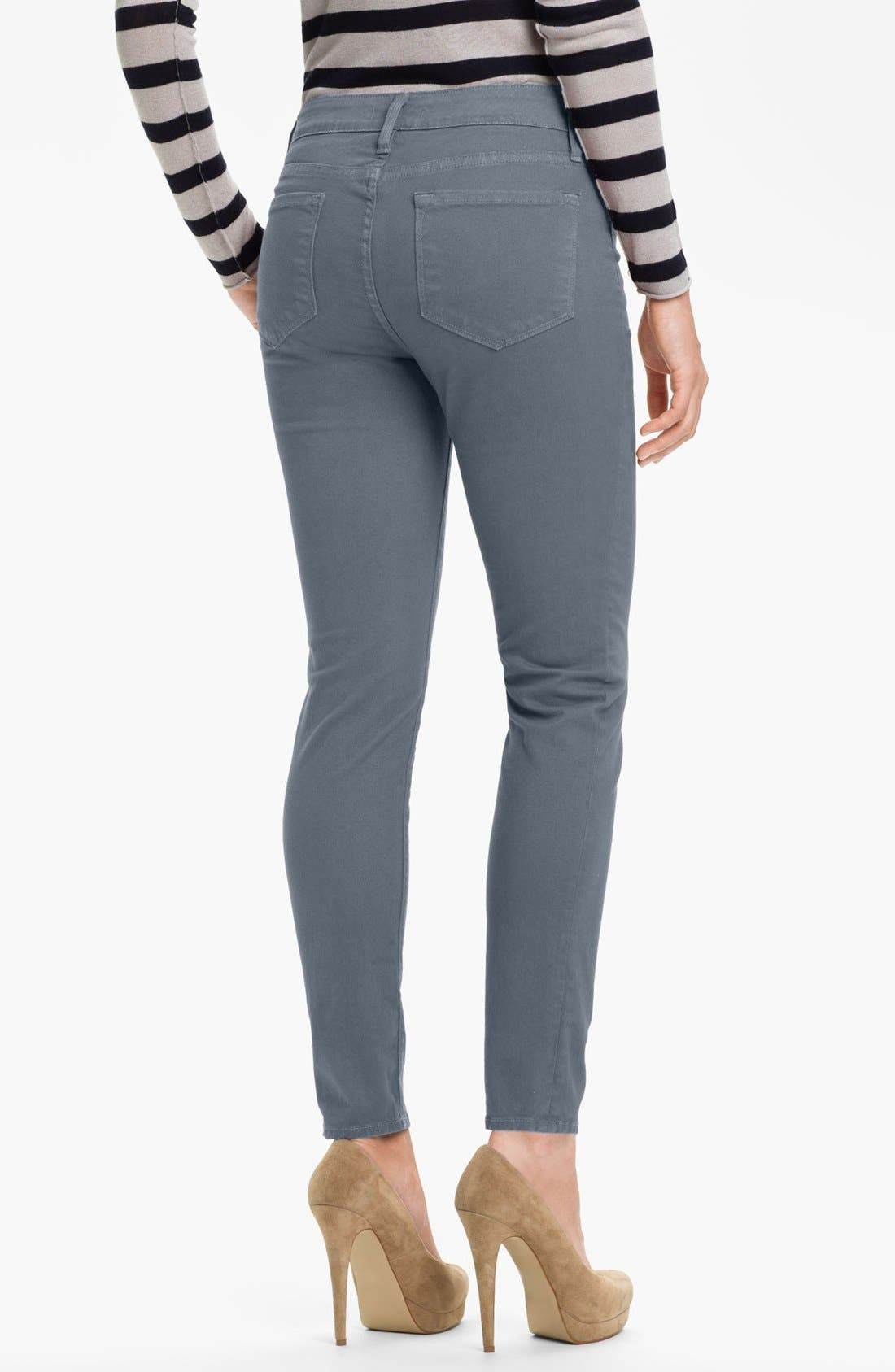 Alternate Image 2  - Blue Essence Skinny Twill Ankle Jeans (Nordstrom Exclusive)