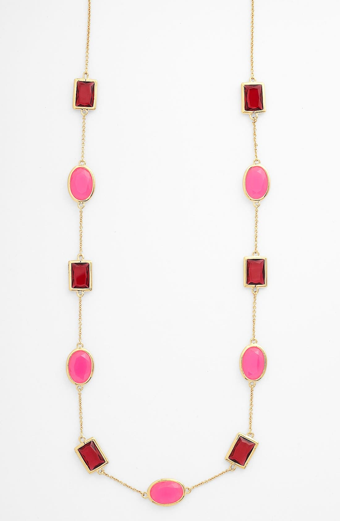 Alternate Image 1 Selected - kate spade new york 'hancock park' long scatter station necklace (Nordstrom Exclusive)