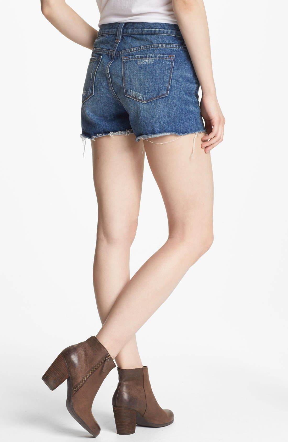 Alternate Image 2  - J Brand Cutoff Denim Shorts (Libra)