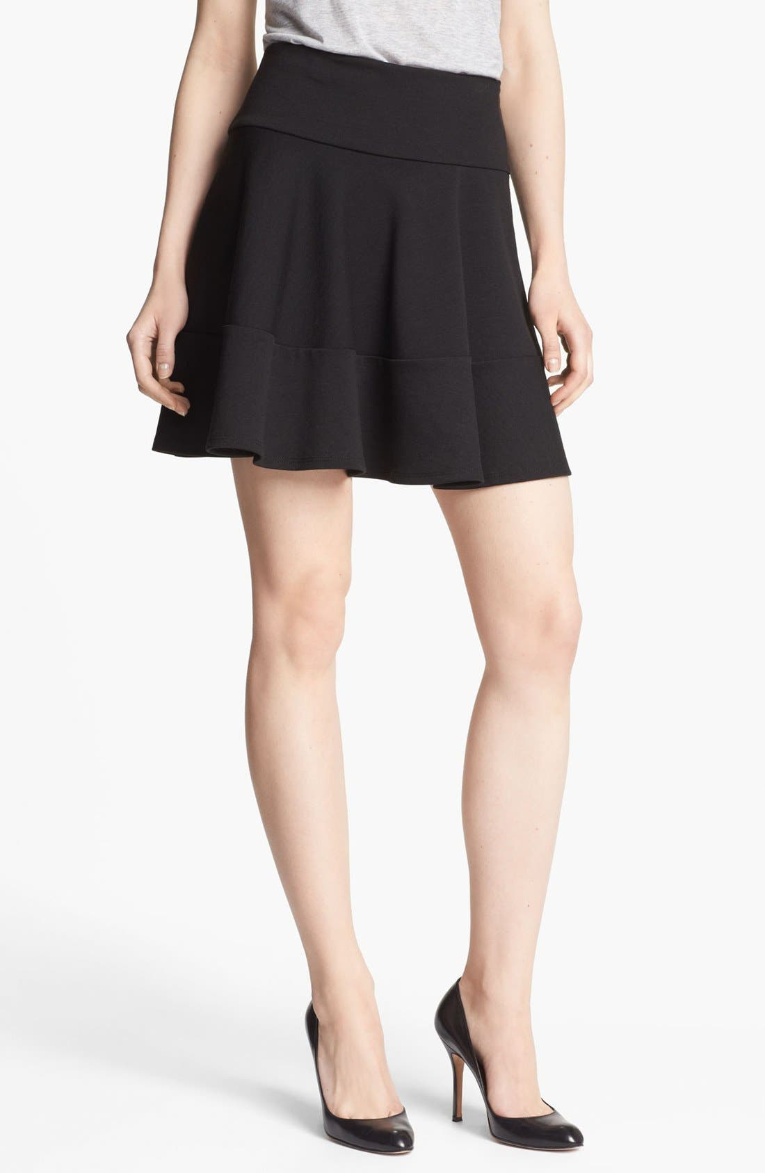 Main Image - Robbi & Nikki Tiered Flare Skirt