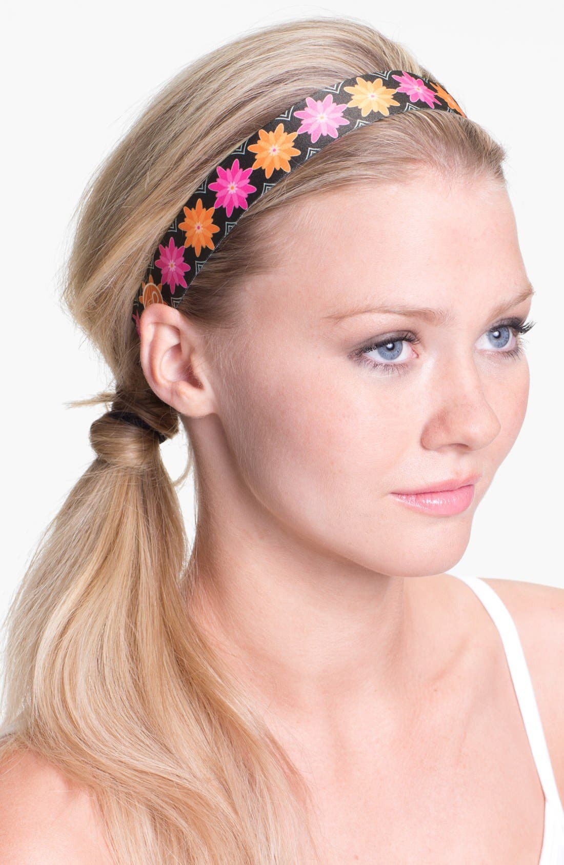 Alternate Image 1 Selected - Sweaty Bands 'Floral Frenzy' Head Wrap