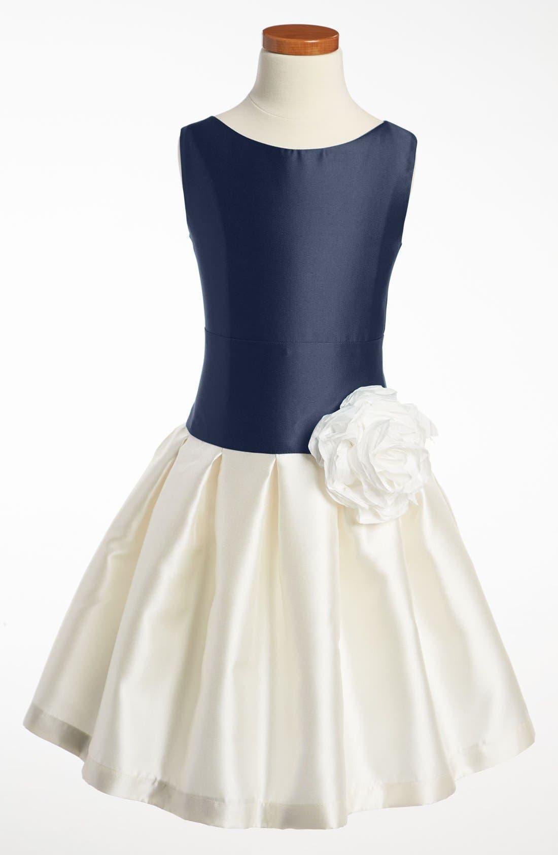 Alternate Image 1 Selected - Zoe Sleeveless Dress (Big Girls)