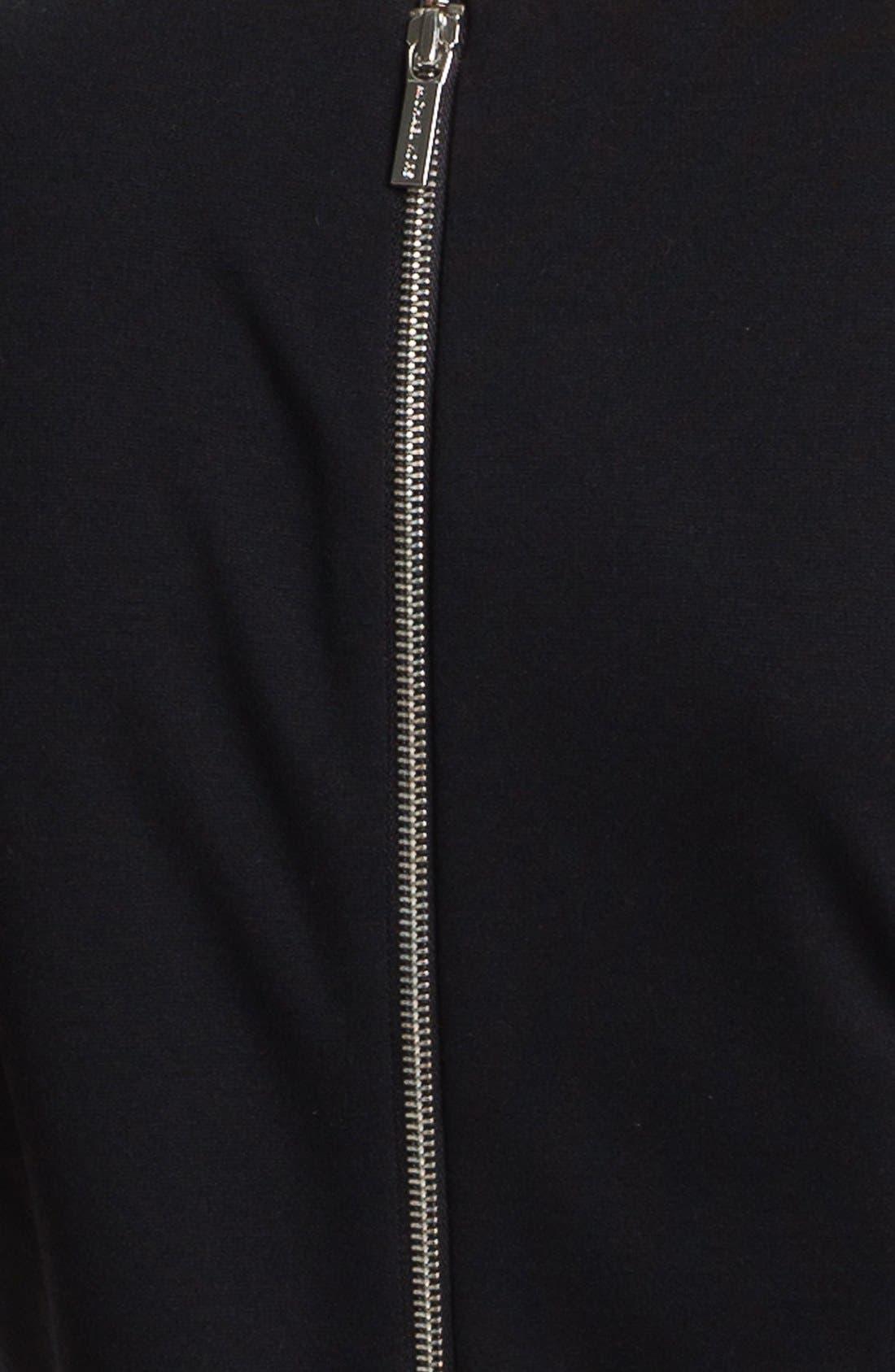 Alternate Image 3  - MICHAEL Michael Kors Studded Short Sleeve Dress (Petite)