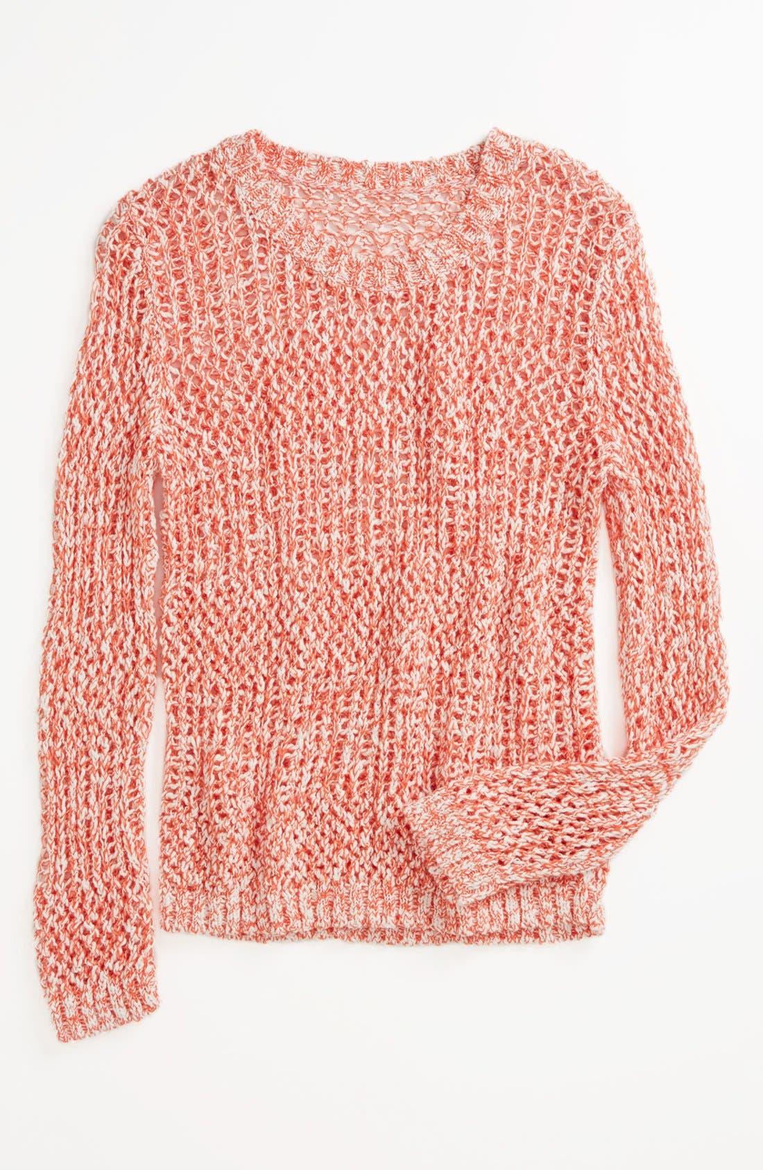 Alternate Image 1 Selected - Tucker + Tate 'Tatiana' Sweater (Big Girls)