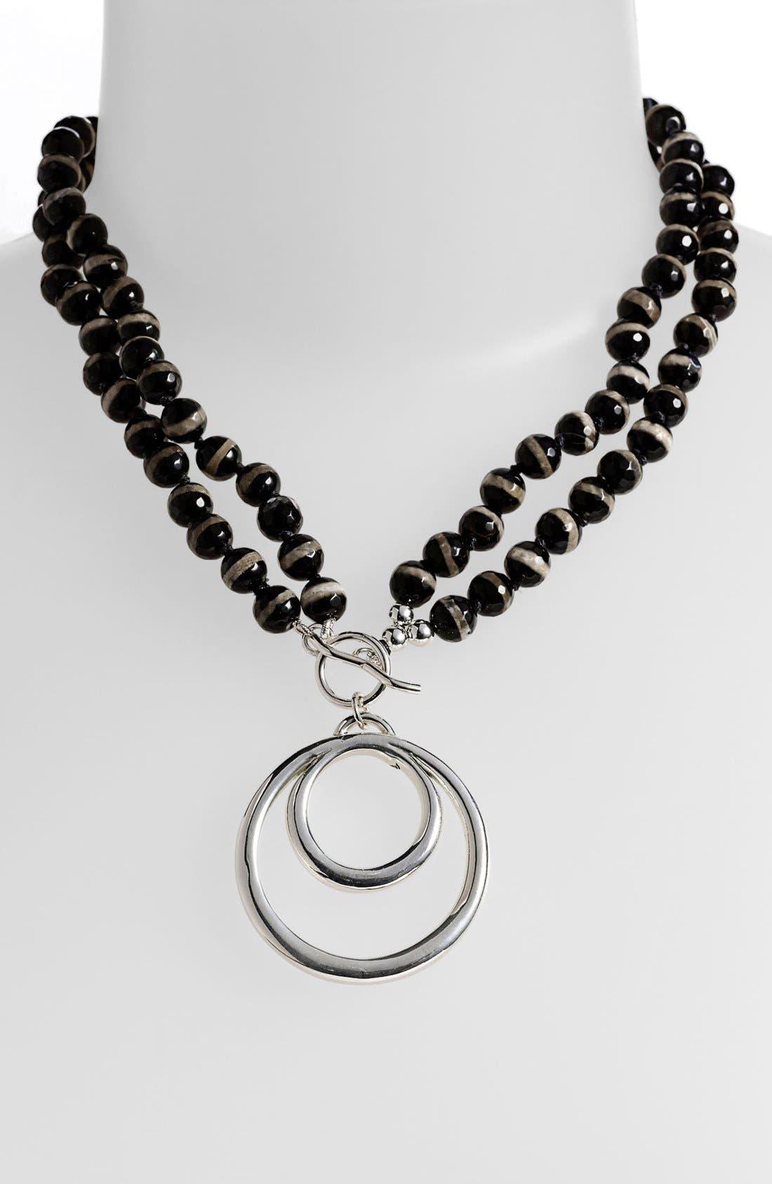 Main Image - Simon Sebbag 'Contemporary' Convertible Double Circle Pendant Necklace