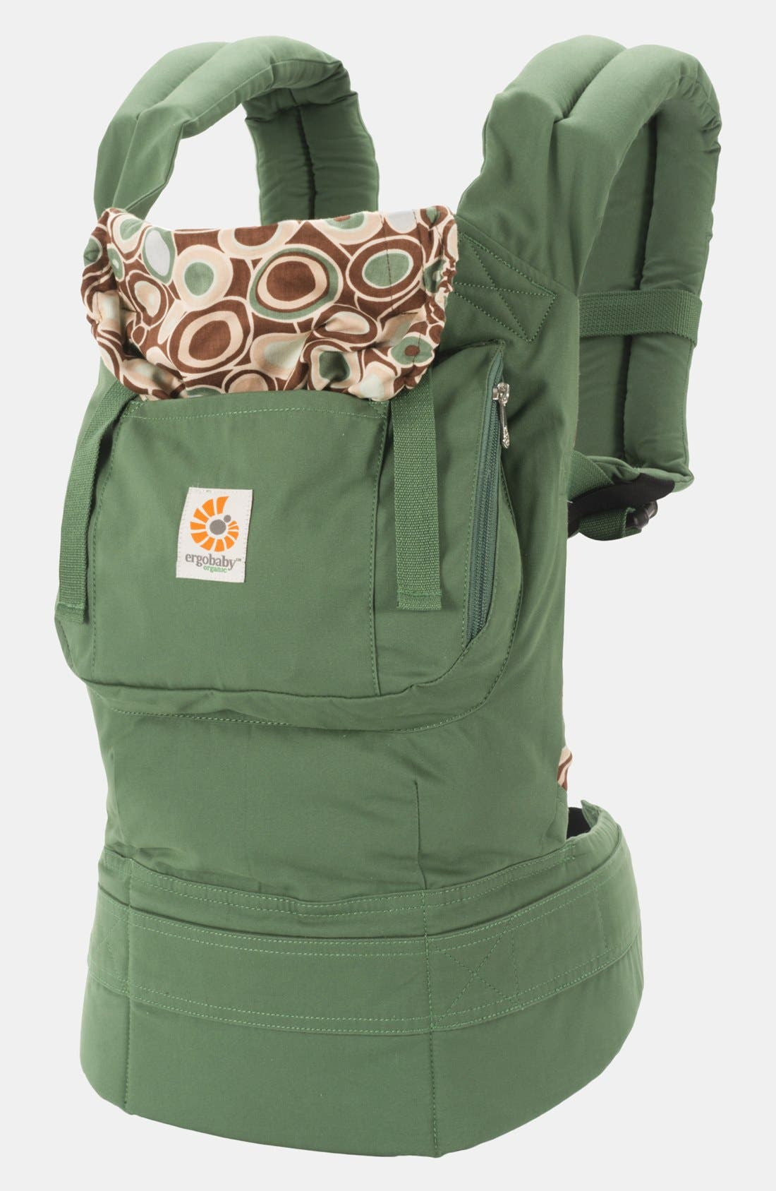 Alternate Image 1 Selected - ERGObaby Organic Cotton Baby Carrier