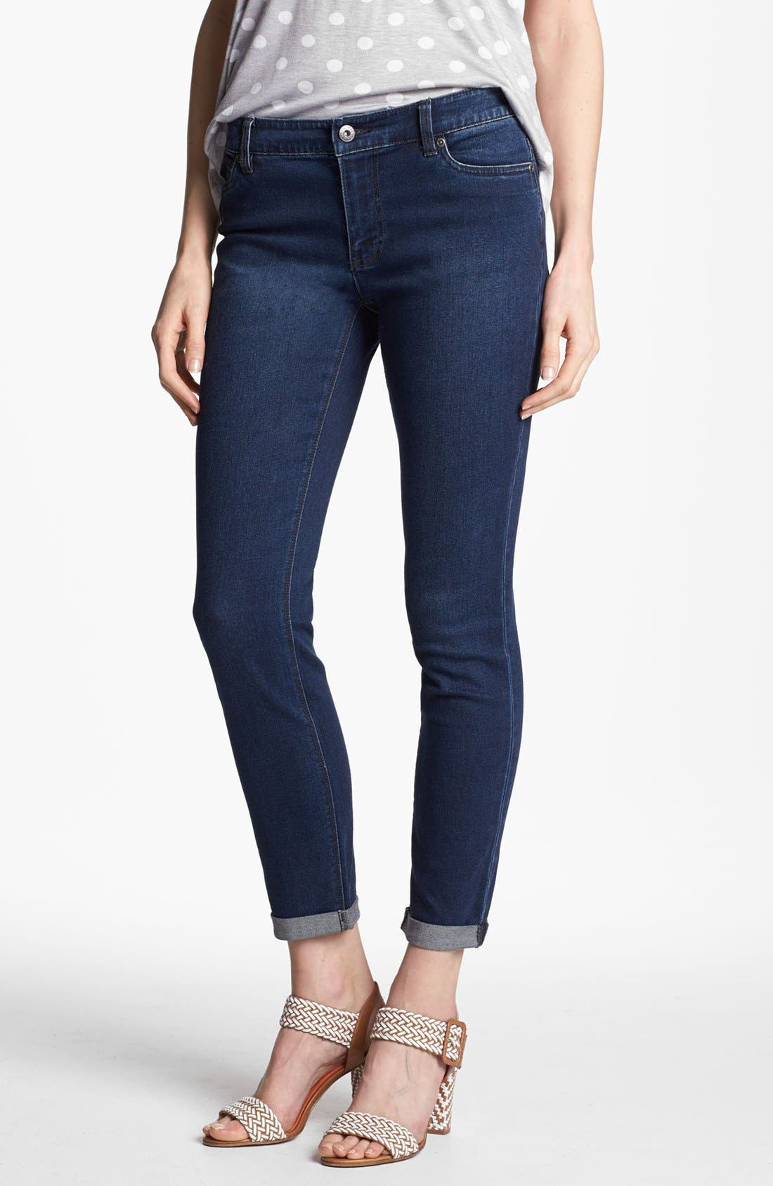 Main Image - Two by Vince Camuto Cuff Crop Jeans