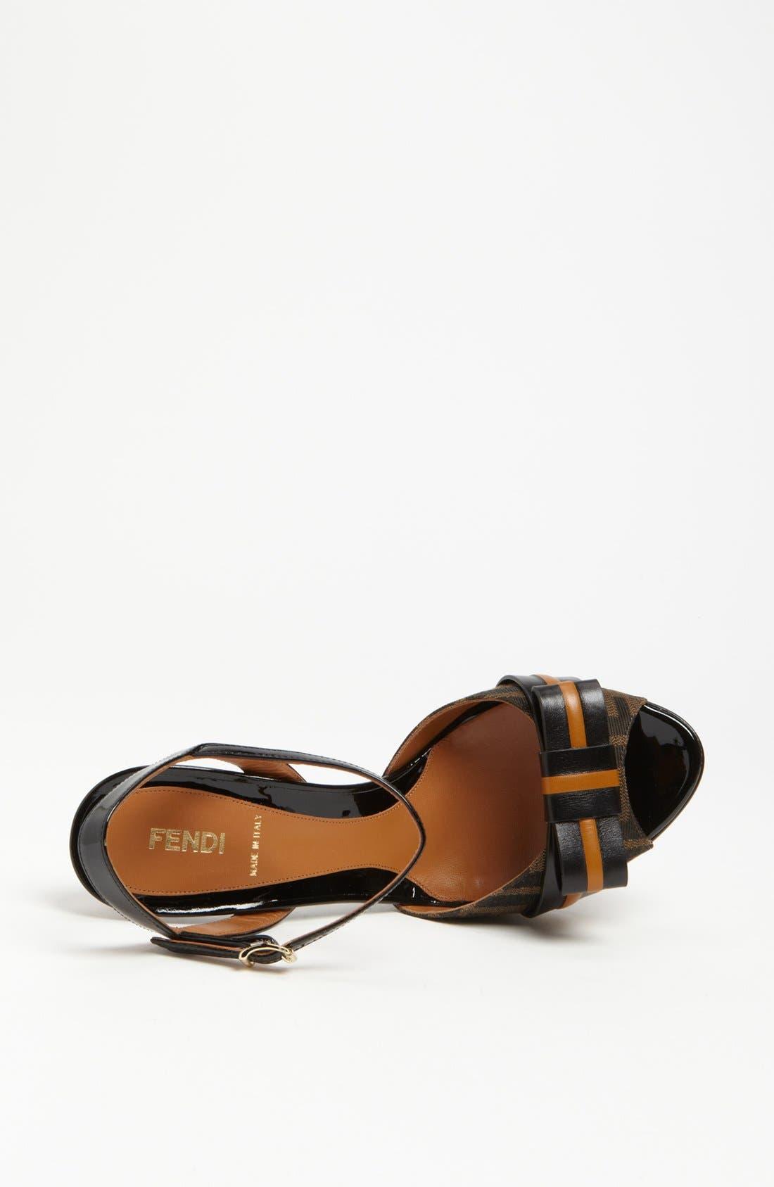 Alternate Image 3  - Fendi 'Pride & Prejudice' Sandal