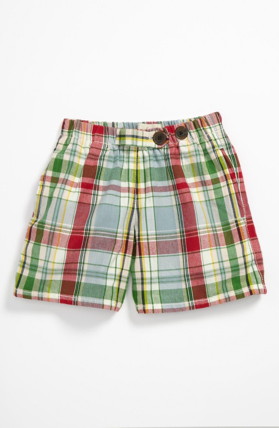 Alternate Image 1 Selected - Peek 'Lowell' Trail Shorts (Baby)