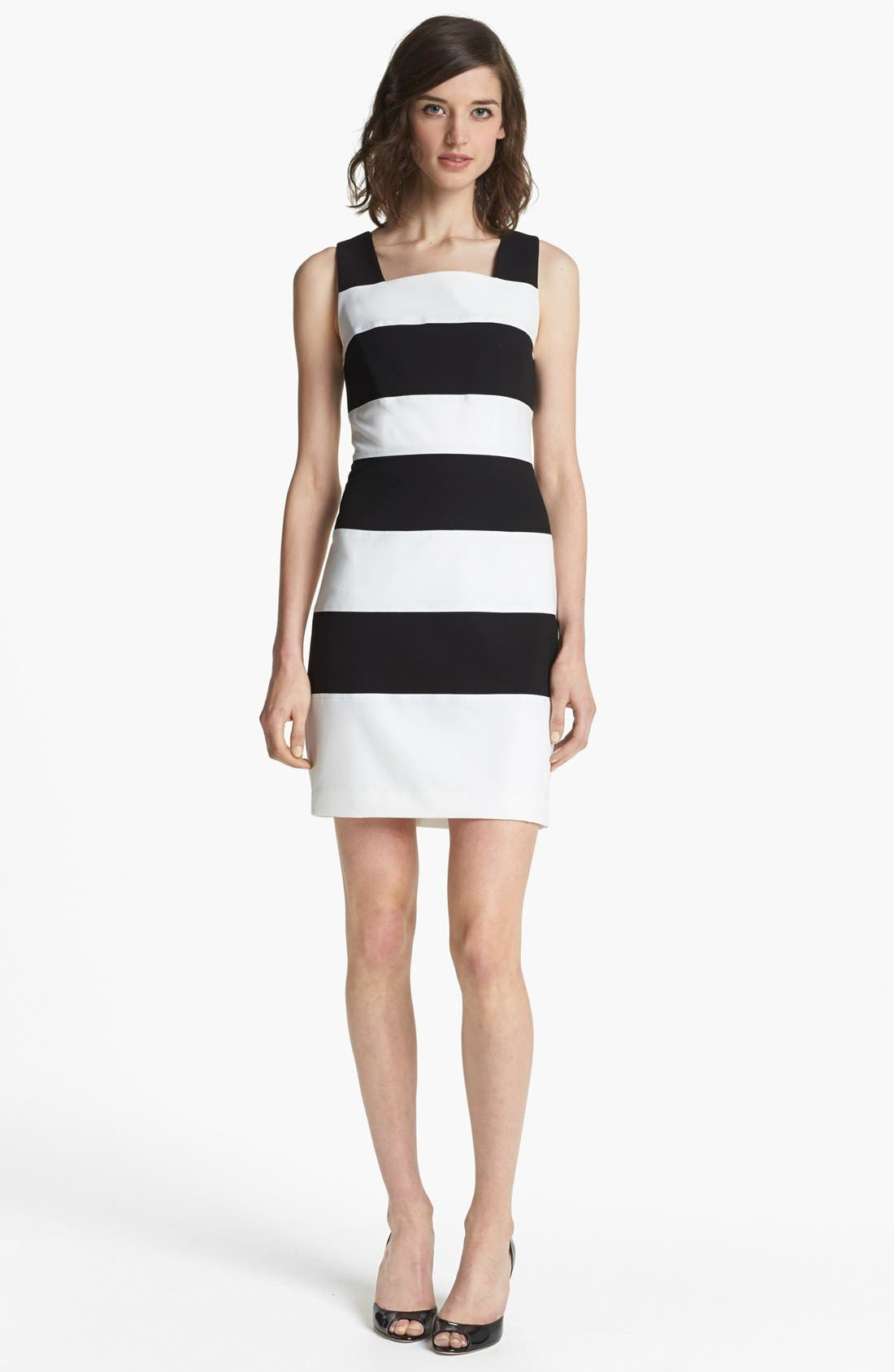 Alternate Image 1 Selected - Marc New York by Andrew Marc Stripe Sheath Dress