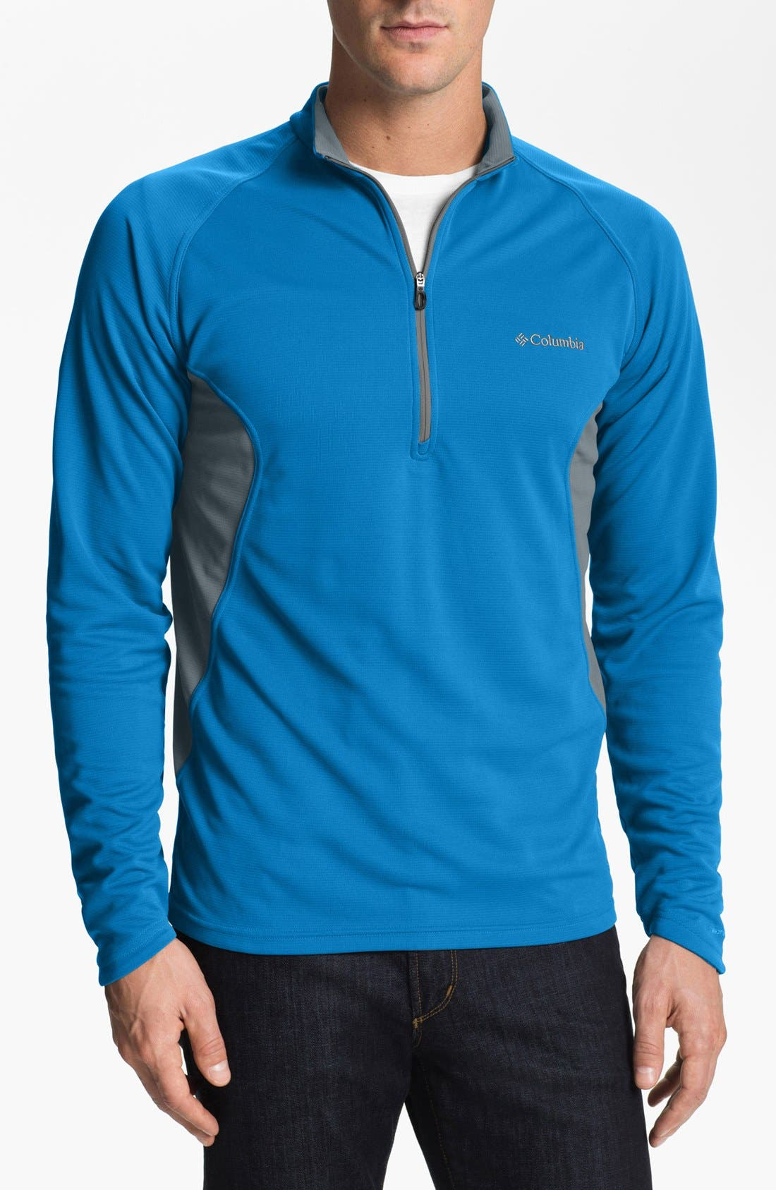 Alternate Image 1 Selected - Columbia 'Insect Blocker Sporty™' Half Zip Pullover
