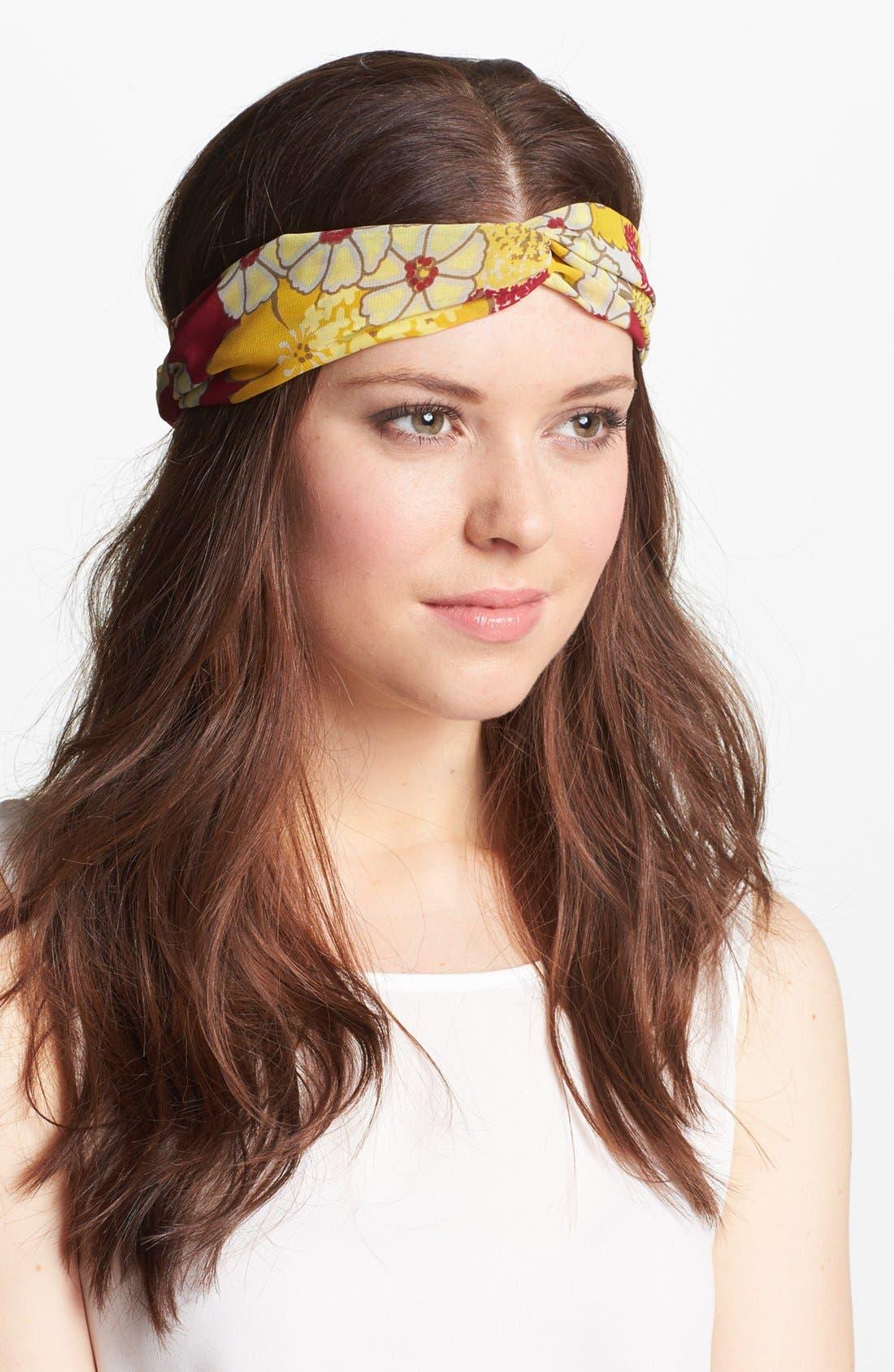 Alternate Image 1 Selected - Tasha 'Floral Interlock' Turban Head Wrap