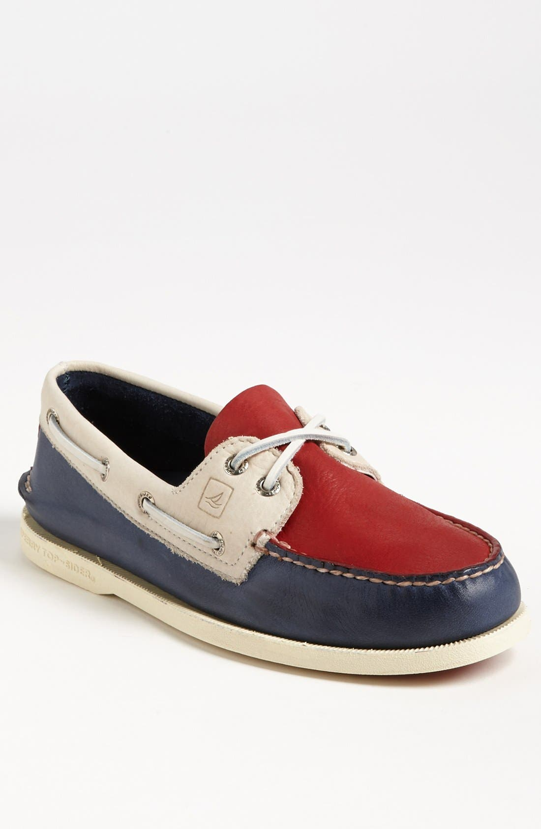 Main Image - Sperry Top-Sider® 'Authentic Original' Burnished Boat Shoe (Men)