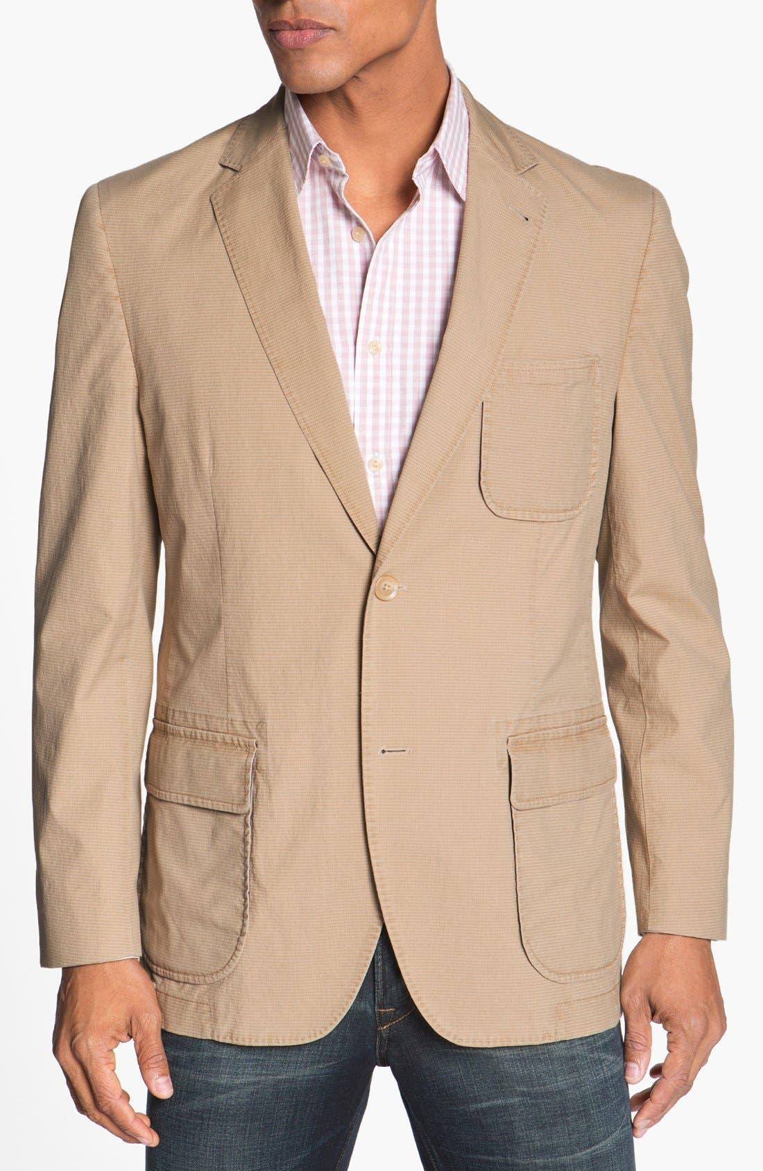 Alternate Image 1 Selected - Kroon 'Harrison' Cotton Blend Sportcoat