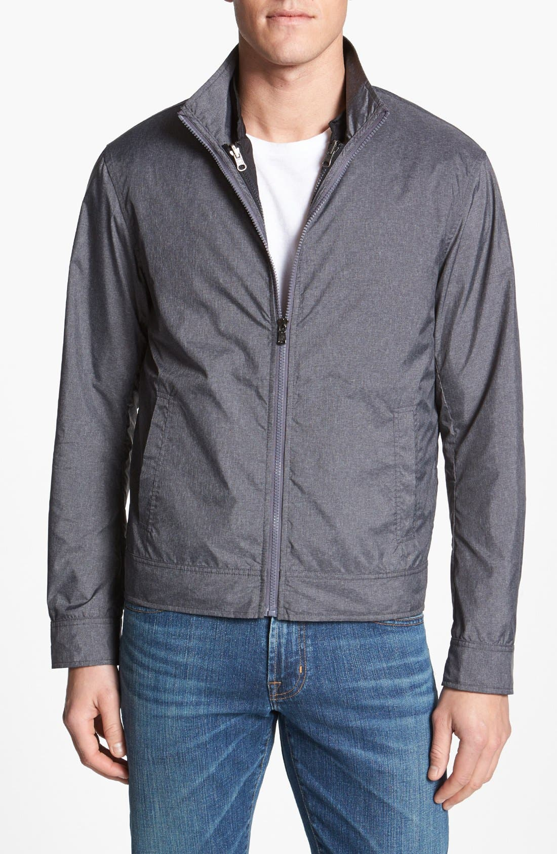 Alternate Image 1 Selected - Michael Kors Trim Fit 3-in-1 Jacket