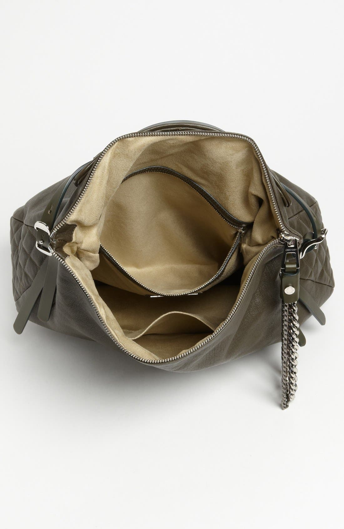 Alternate Image 3  - Jimmy Choo 'Large Boho' Leather Hobo