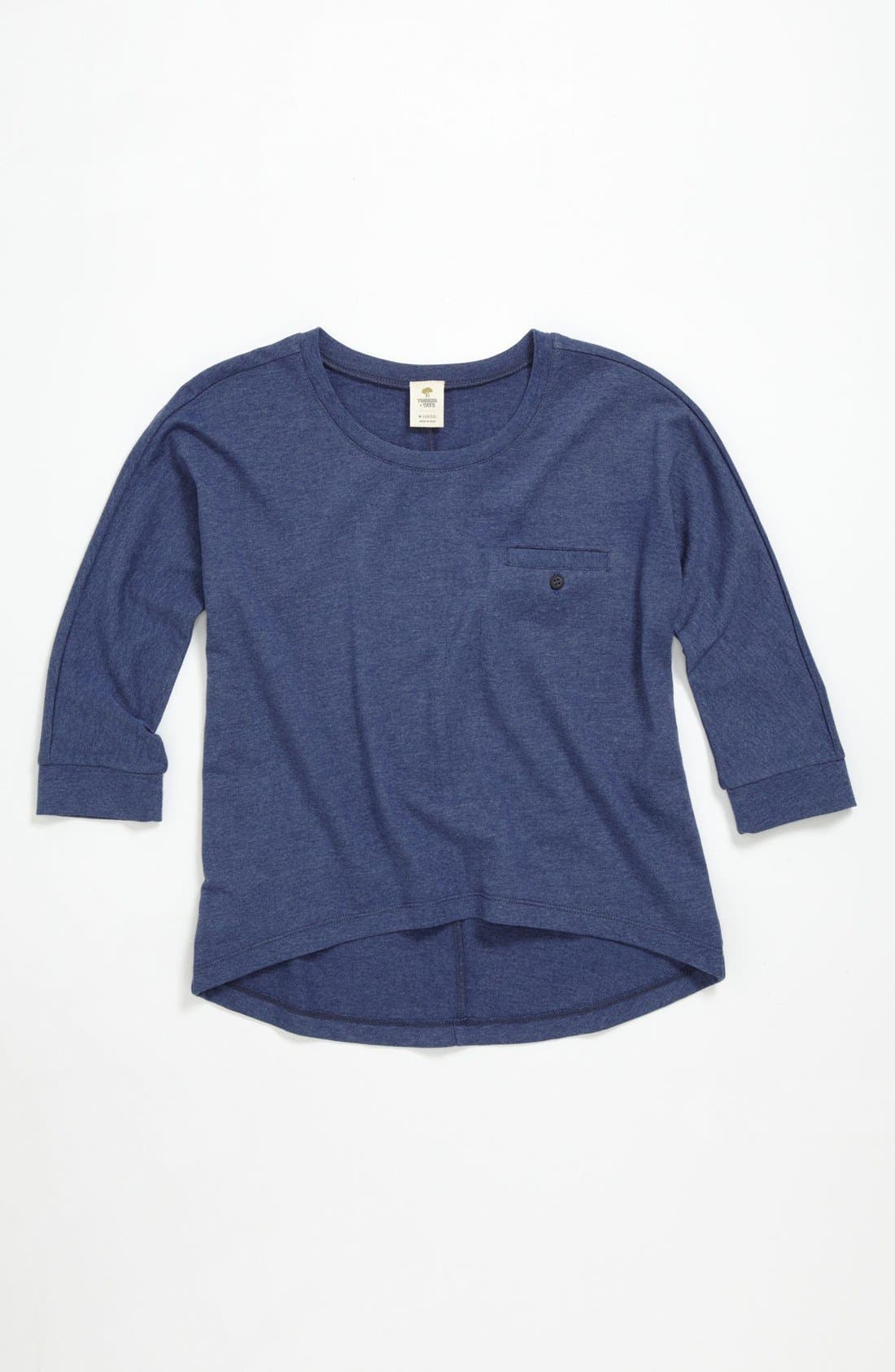 Alternate Image 1 Selected - Tucker + Tate 'Gena' Knit Top (Big Girls)