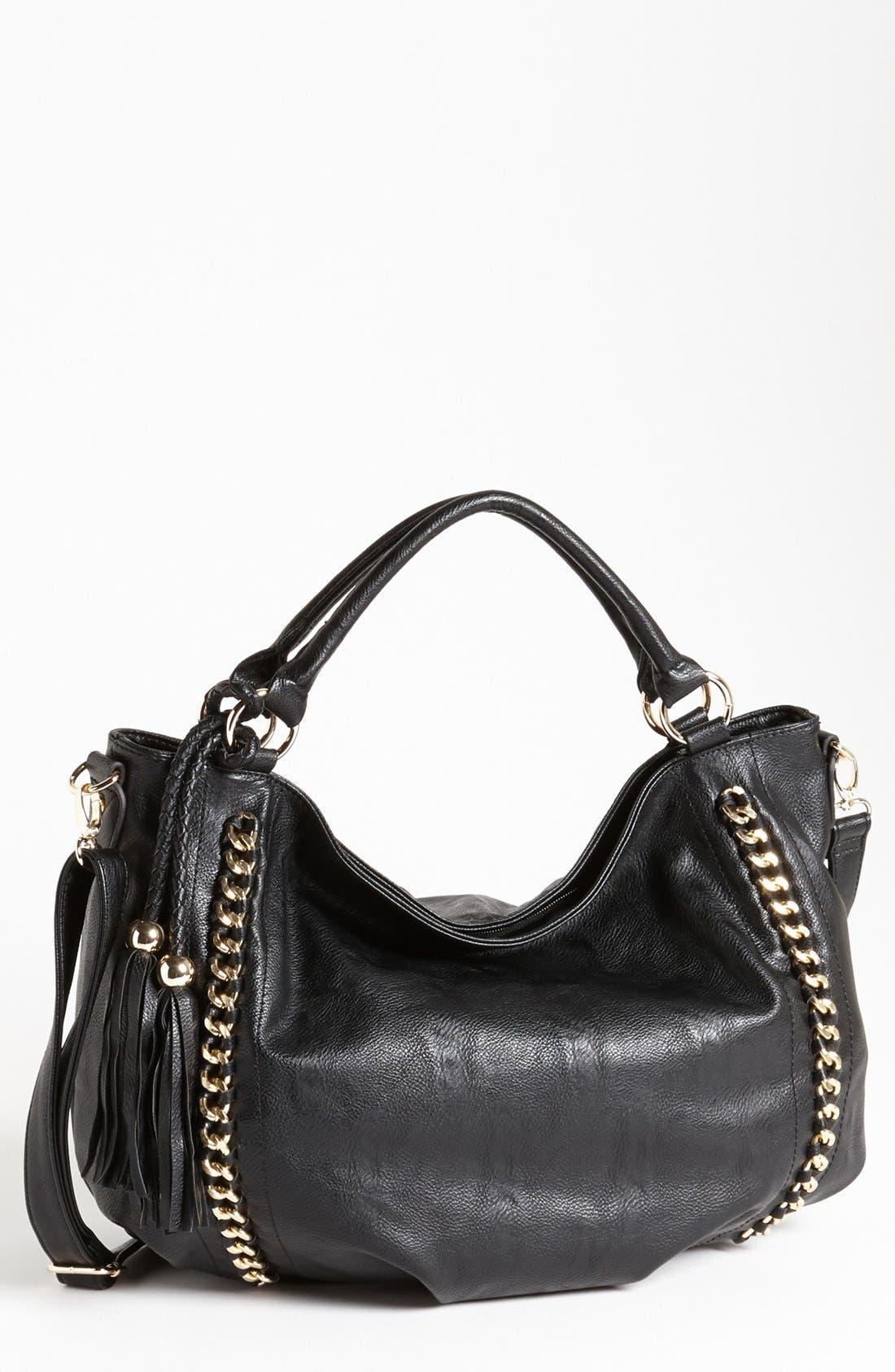 Main Image - LaTique 'Adele' Faux Leather Satchel