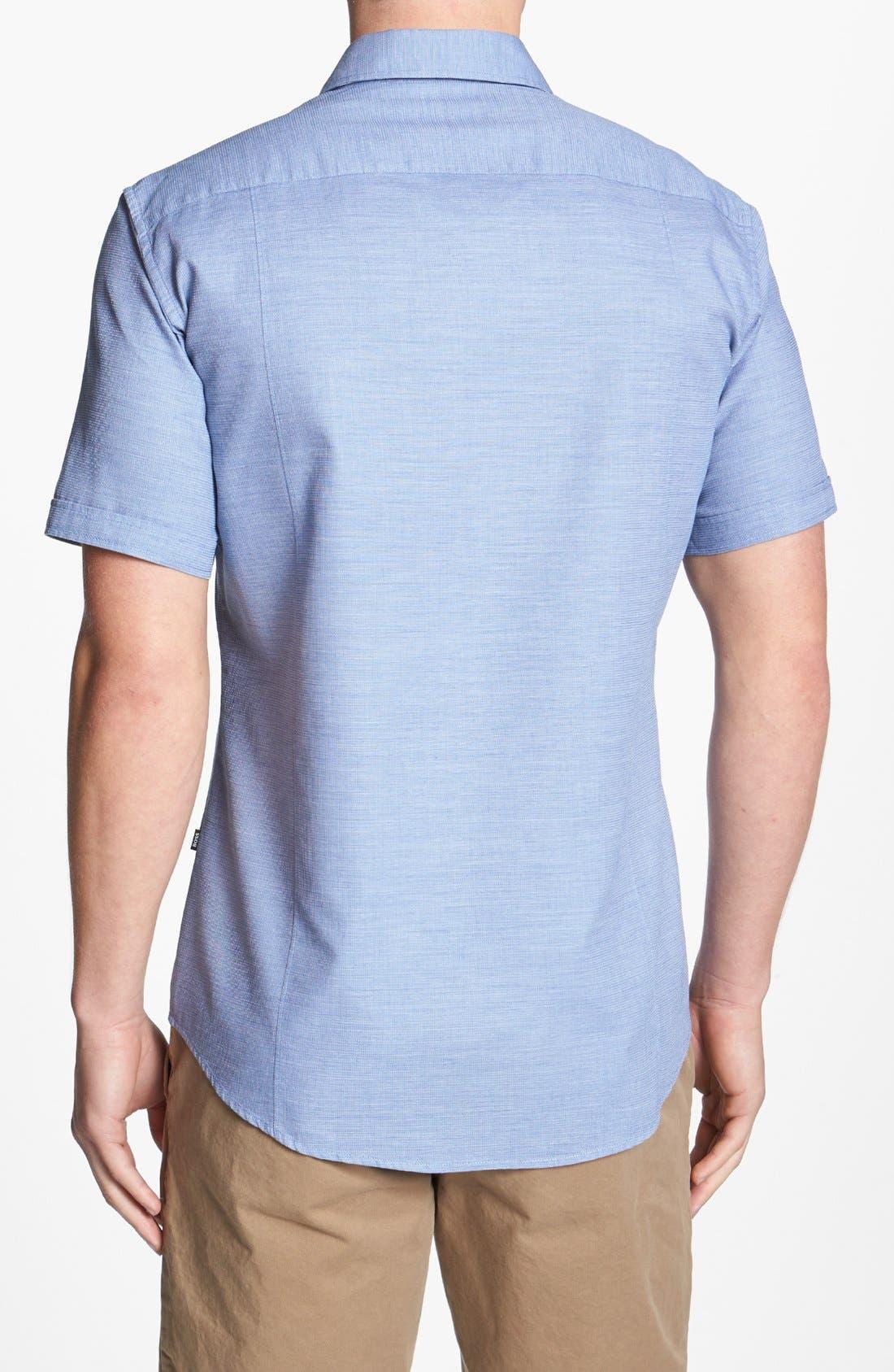 Alternate Image 2  - BOSS HUGO BOSS 'Marco' Slim Fit Short Sleeve Sport Shirt