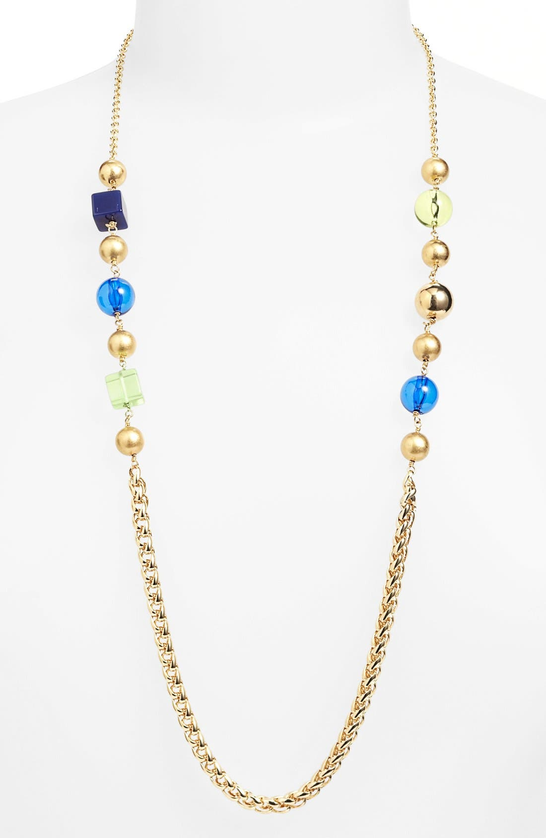 Alternate Image 1 Selected - MARC BY MARC JACOBS 'Ball & Chains' Long Station Necklace