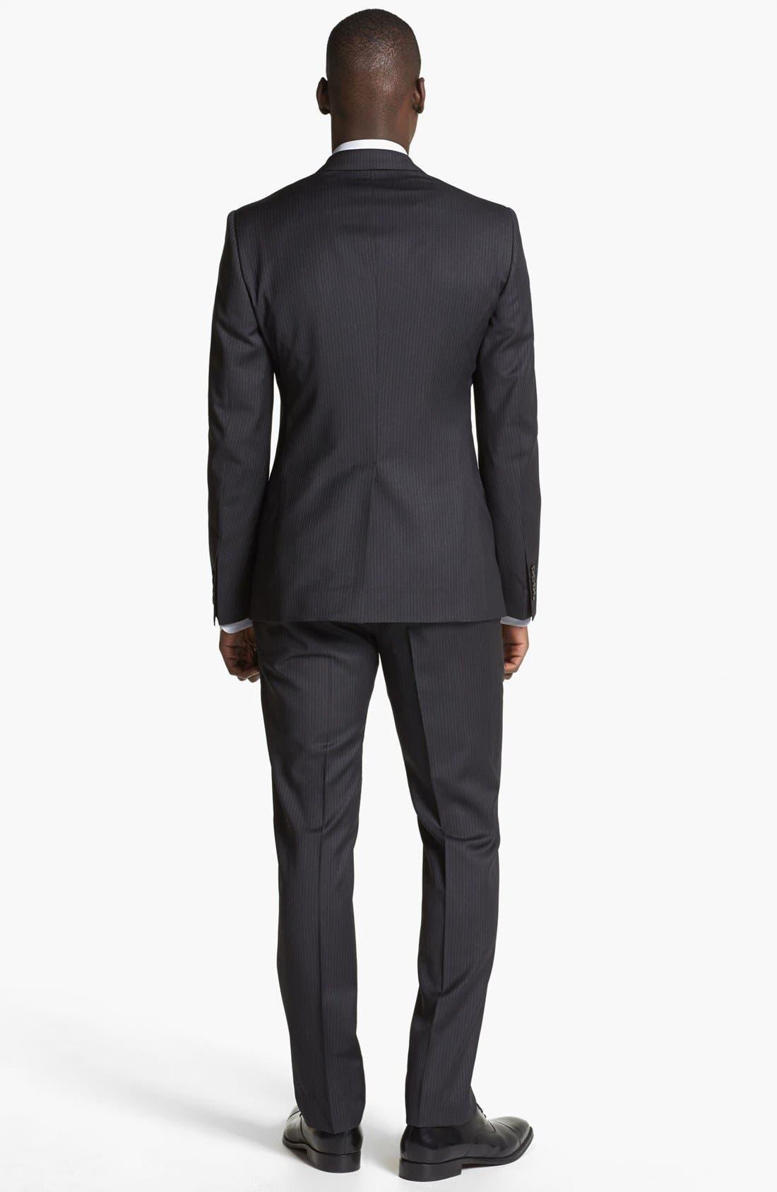 Alternate Image 3  - Dolce&Gabbana 'Martini' Pinstripe Wool Suit